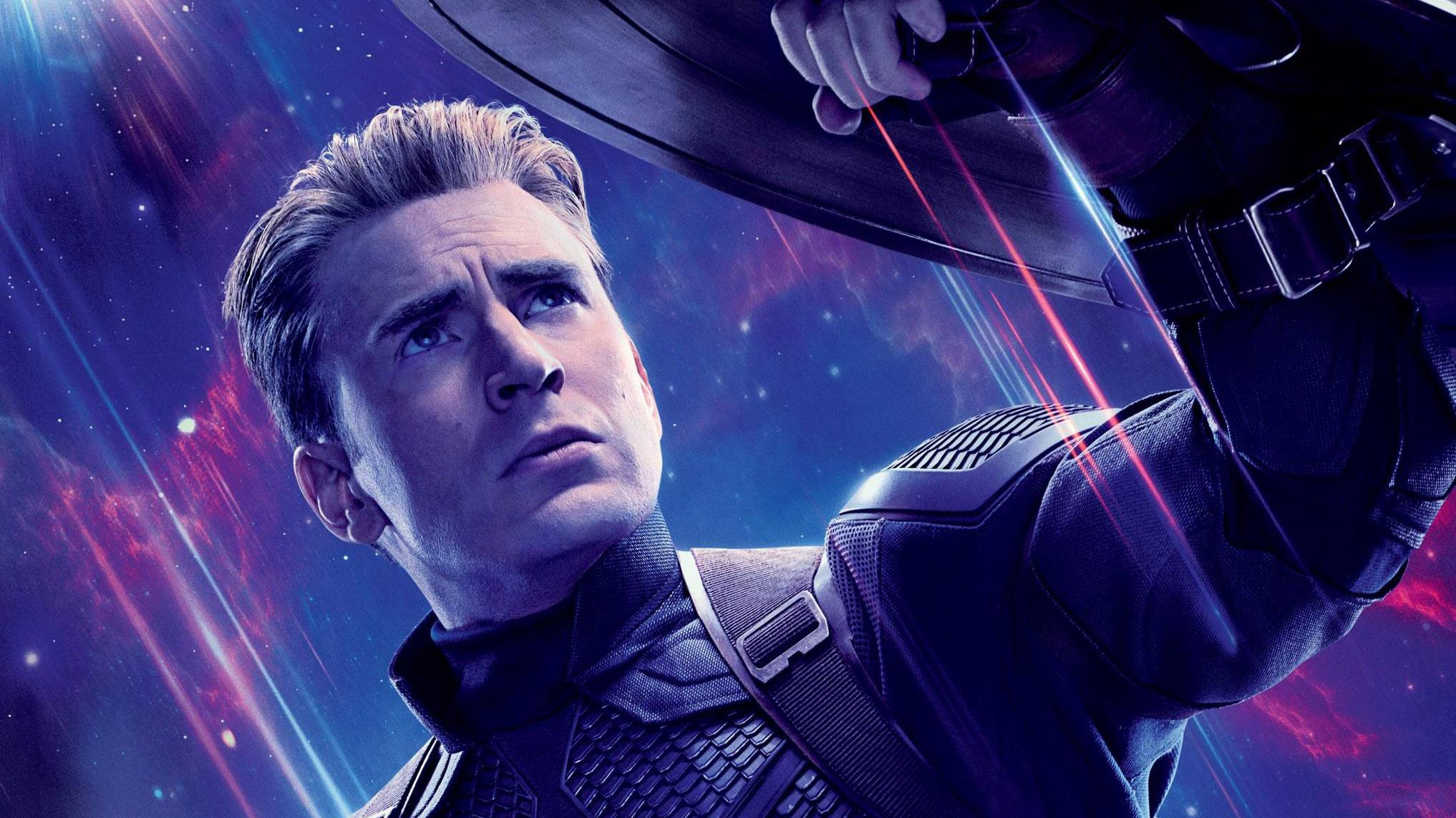 Captain America Avengers Endgame Wallpapers Wallpaper Cave