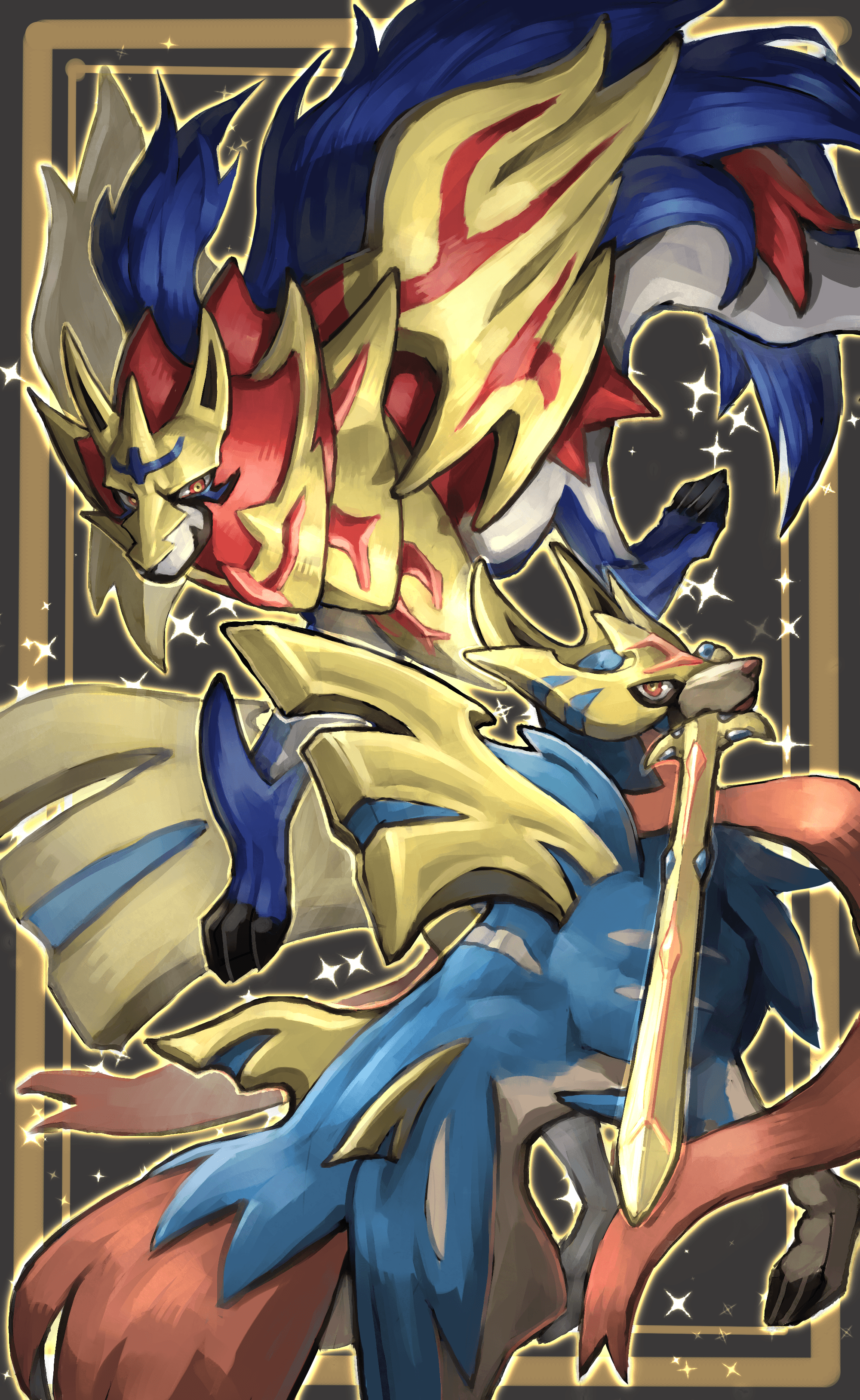Zacian Wallpapers Wallpaper Cave