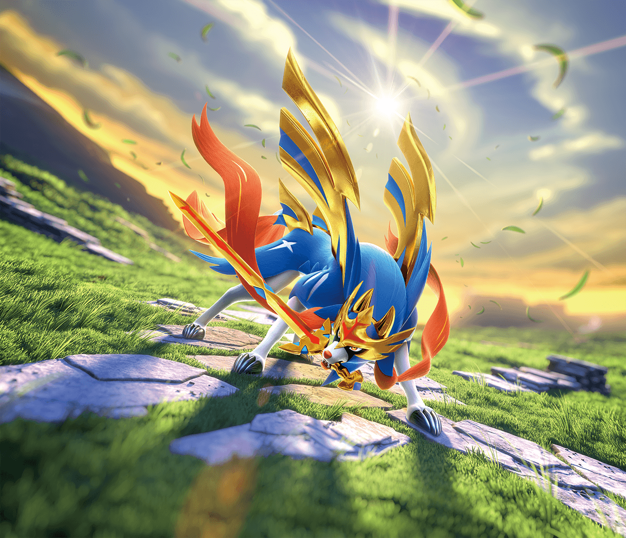 Legendary Sword Pokemon Wallpapers Wallpaper Cave