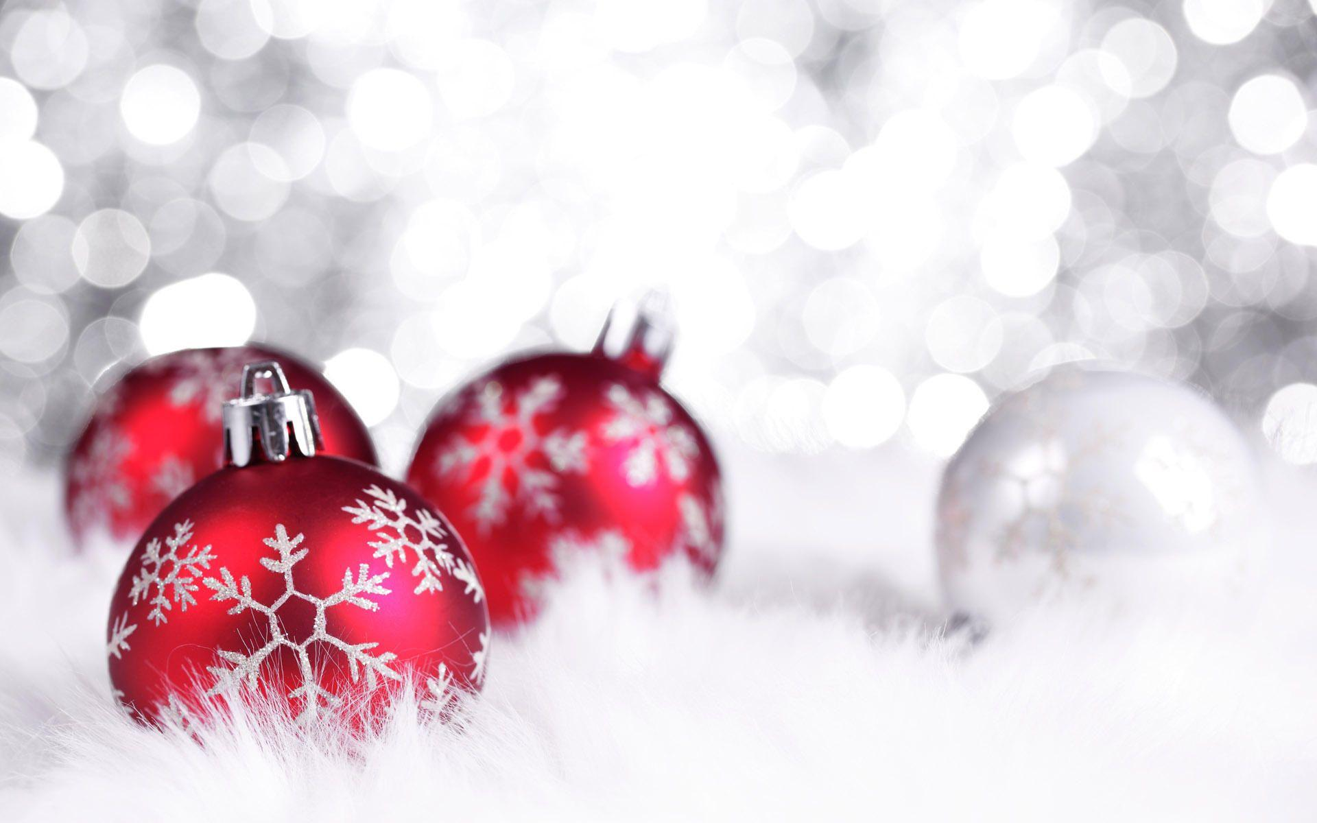 Red And White Christmas Wallpapers ...