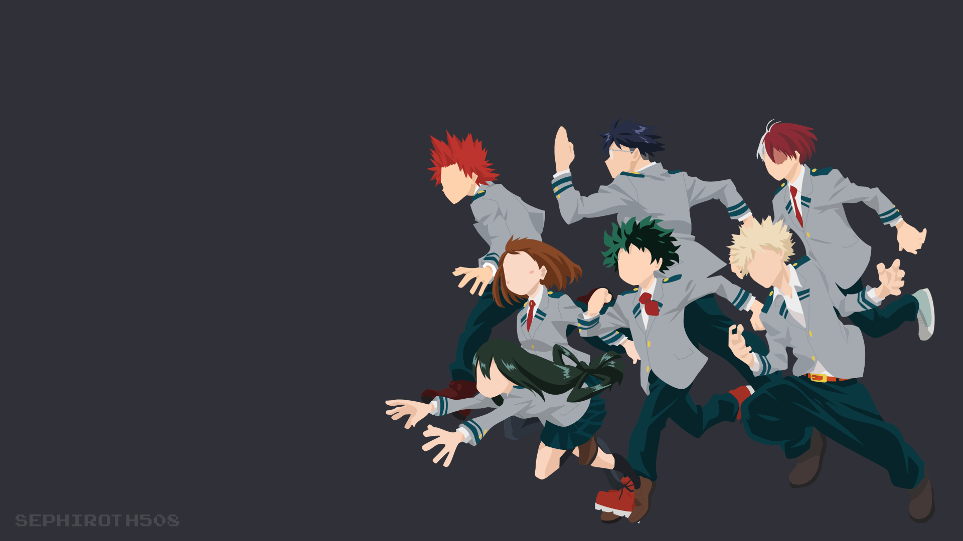 Kirishima X Deku Wallpapers Wallpaper Cave