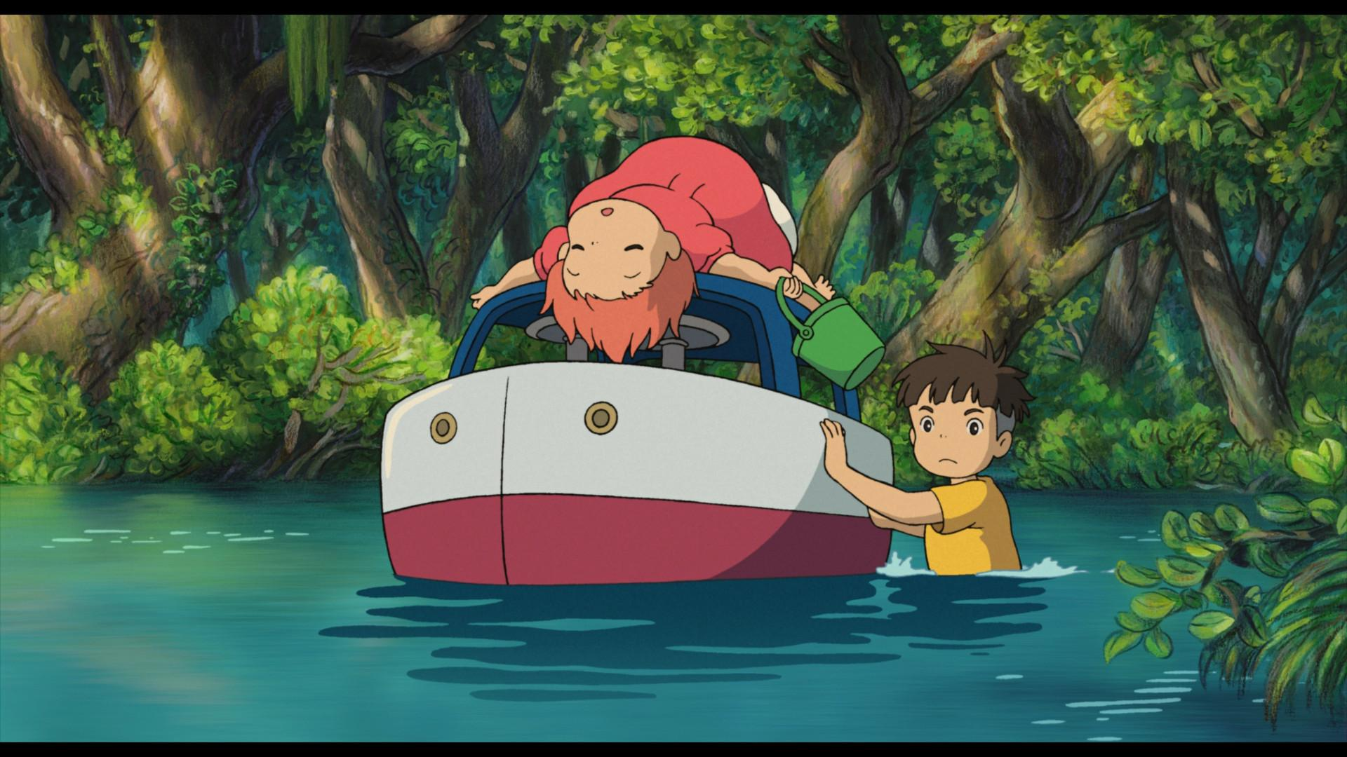 Ponyo On The Cliff Wallpapers Wallpaper Cave