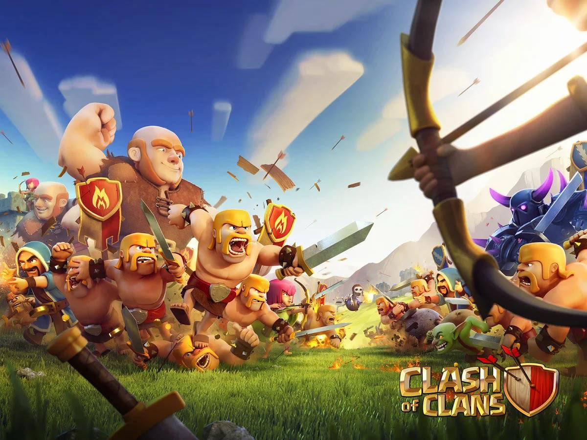 92+] Clash Of Clans Wizard Wallpapers
