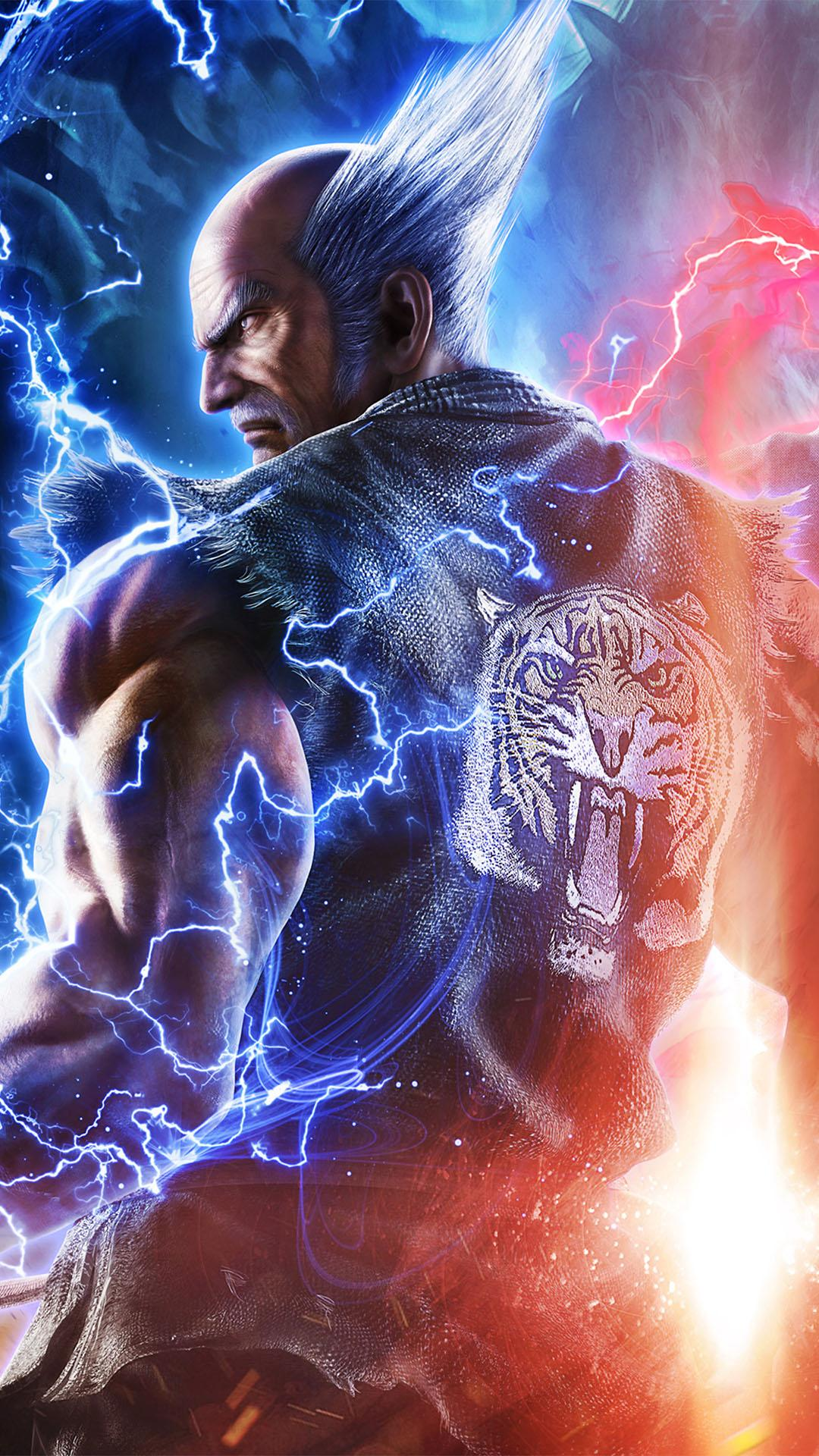 Heihachi Iphone Wallpapers Wallpaper Cave