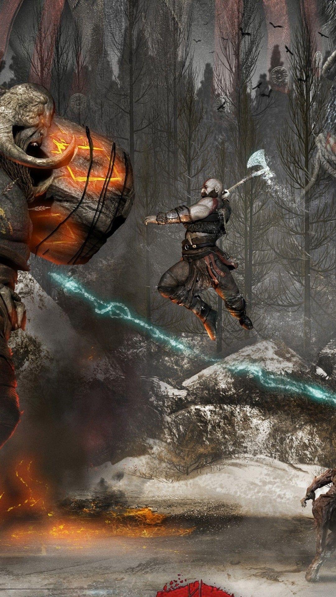 Kratos iPhone Wallpapers - Wallpaper Cave