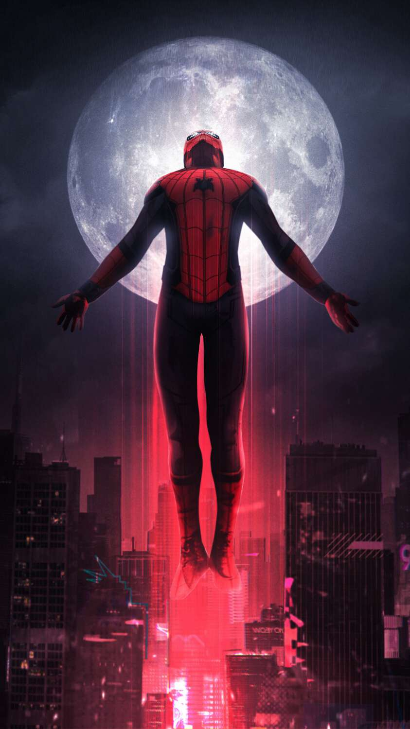 Spider Man Far From Home Iphone Wallpapers Wallpaper Cave