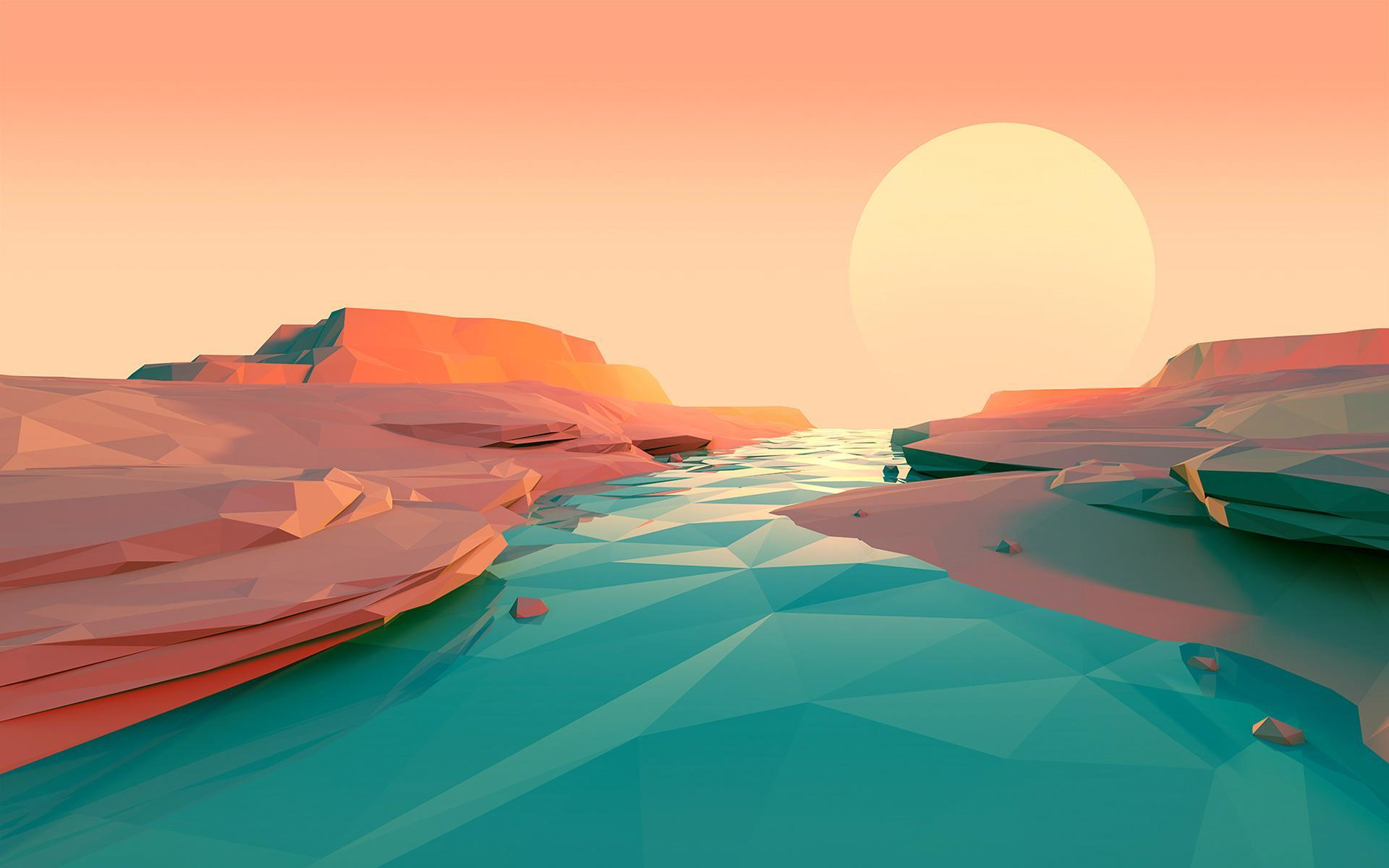 Minimalist Sunset Wallpapers Wallpaper Cave