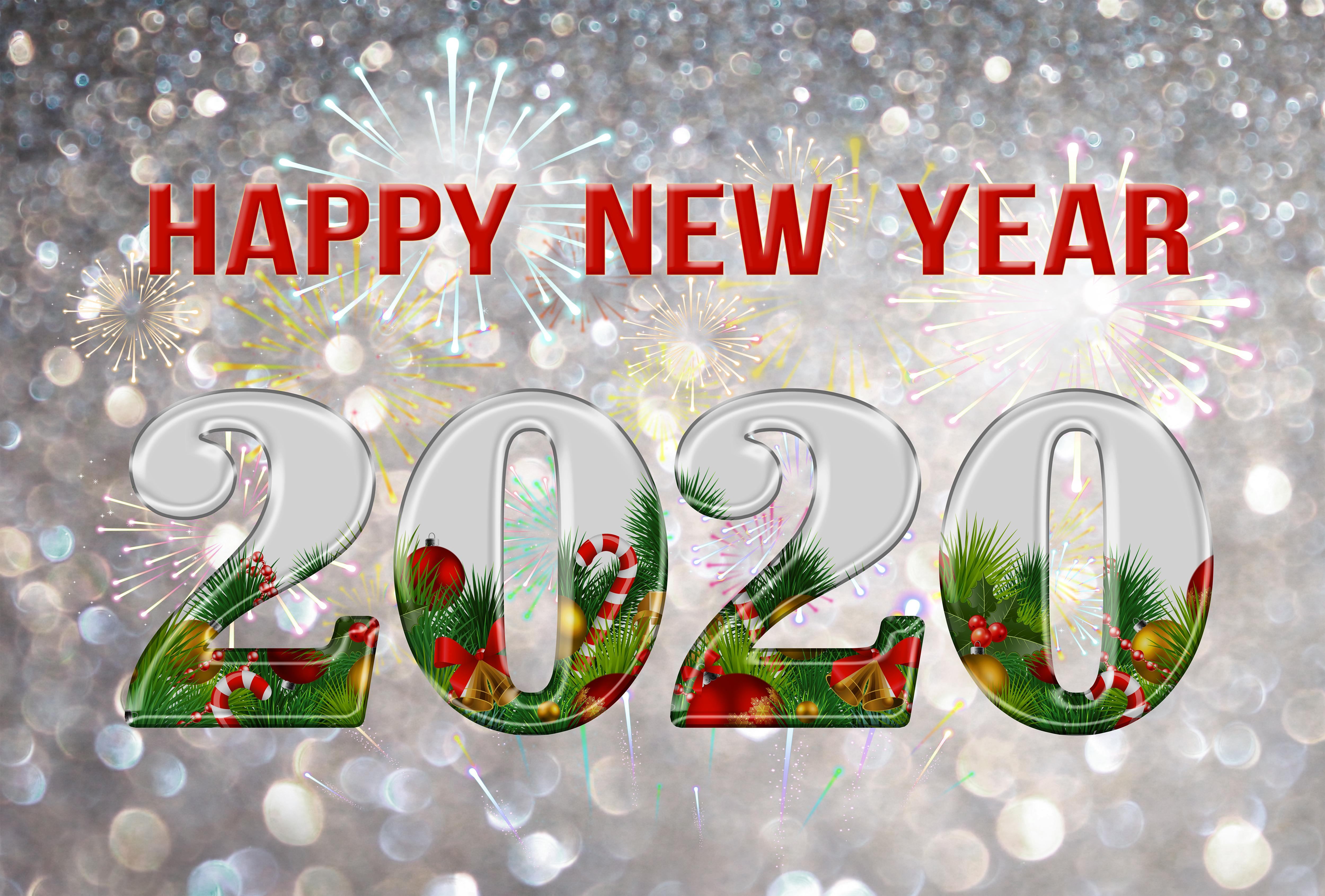 Happy New Year 2020 Backgrounds
