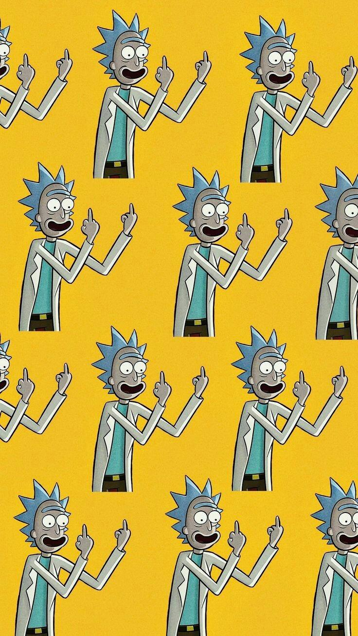 Tumblr Psychedelic Rick And Morty Wallpapers Wallpaper Cave