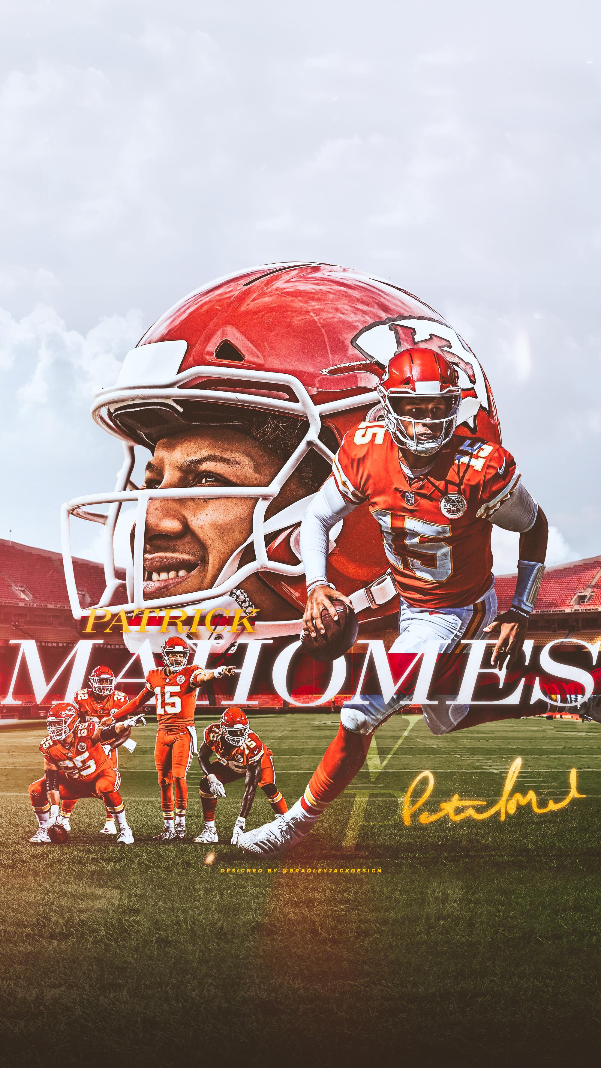 Patrick Mahomes II Kansas City Chiefs Wallpapers ...