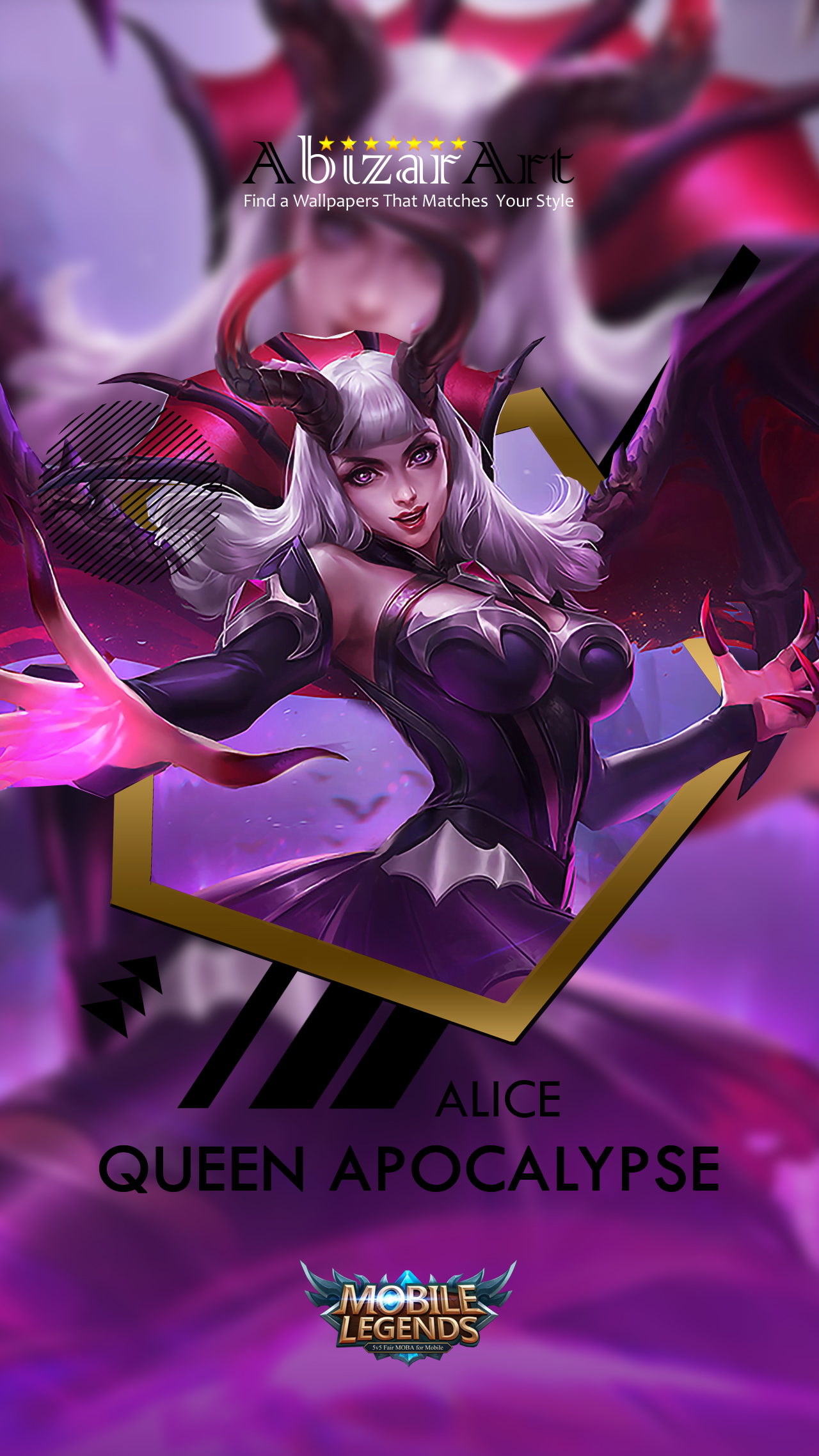 Top Ten Alice Mobile Legends Wallpaper