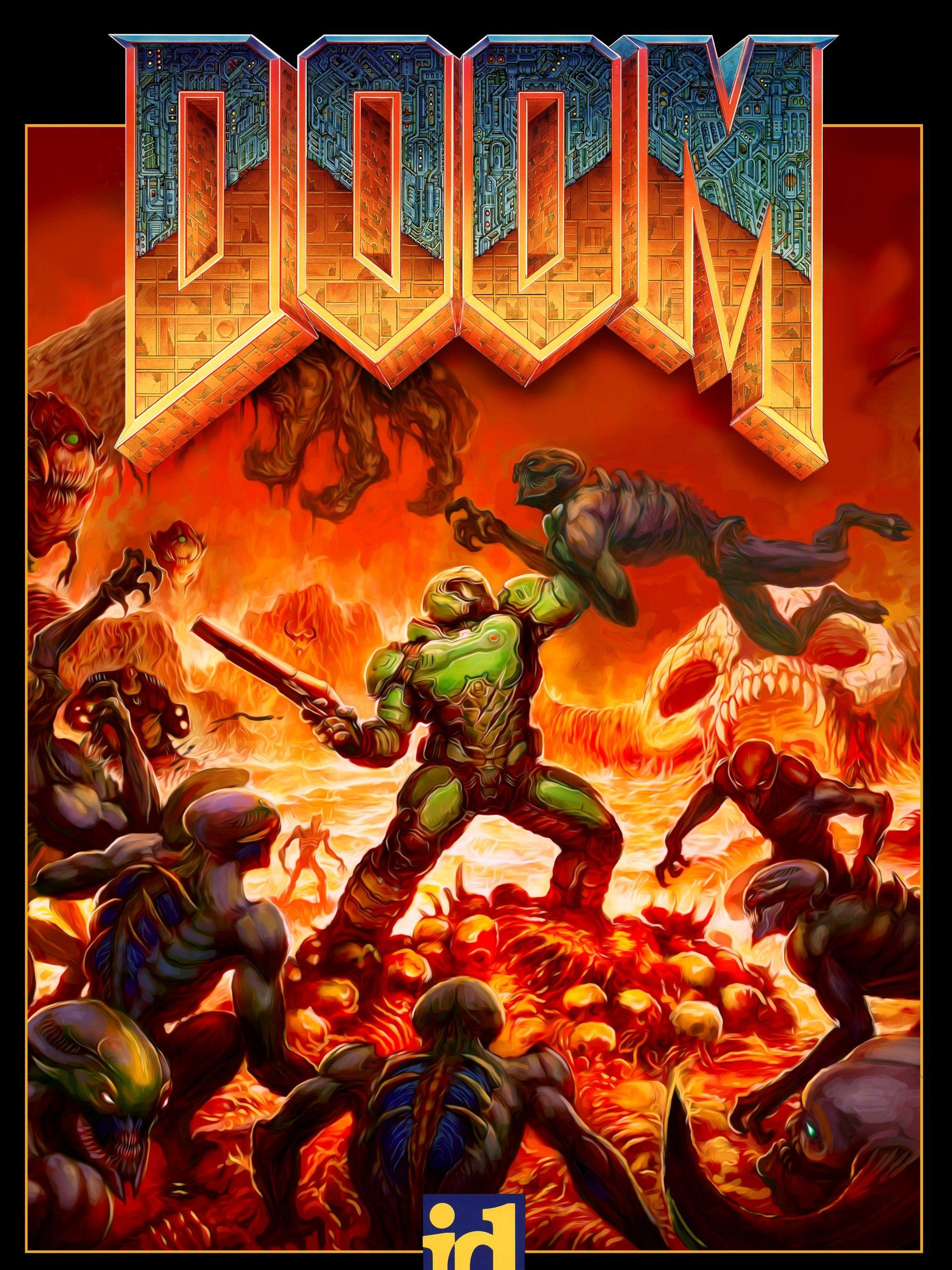 Doom Eternal Iphone Wallpapers Wallpaper Cave
