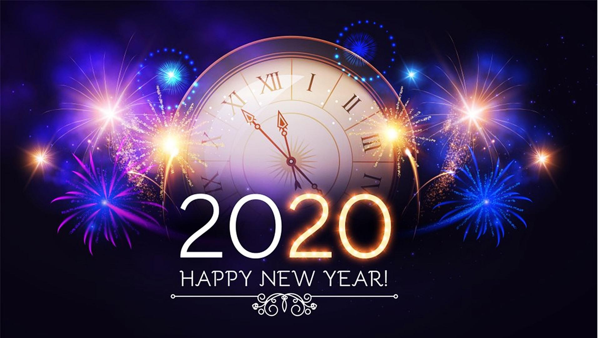 Happy New Year 2020 High Definition Wallpapers 45552