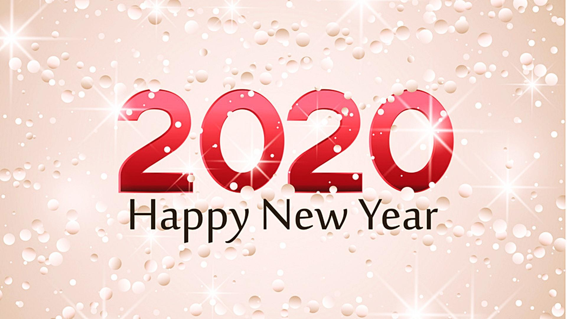 Happy New Year 2020 Wallpapers HD 45554