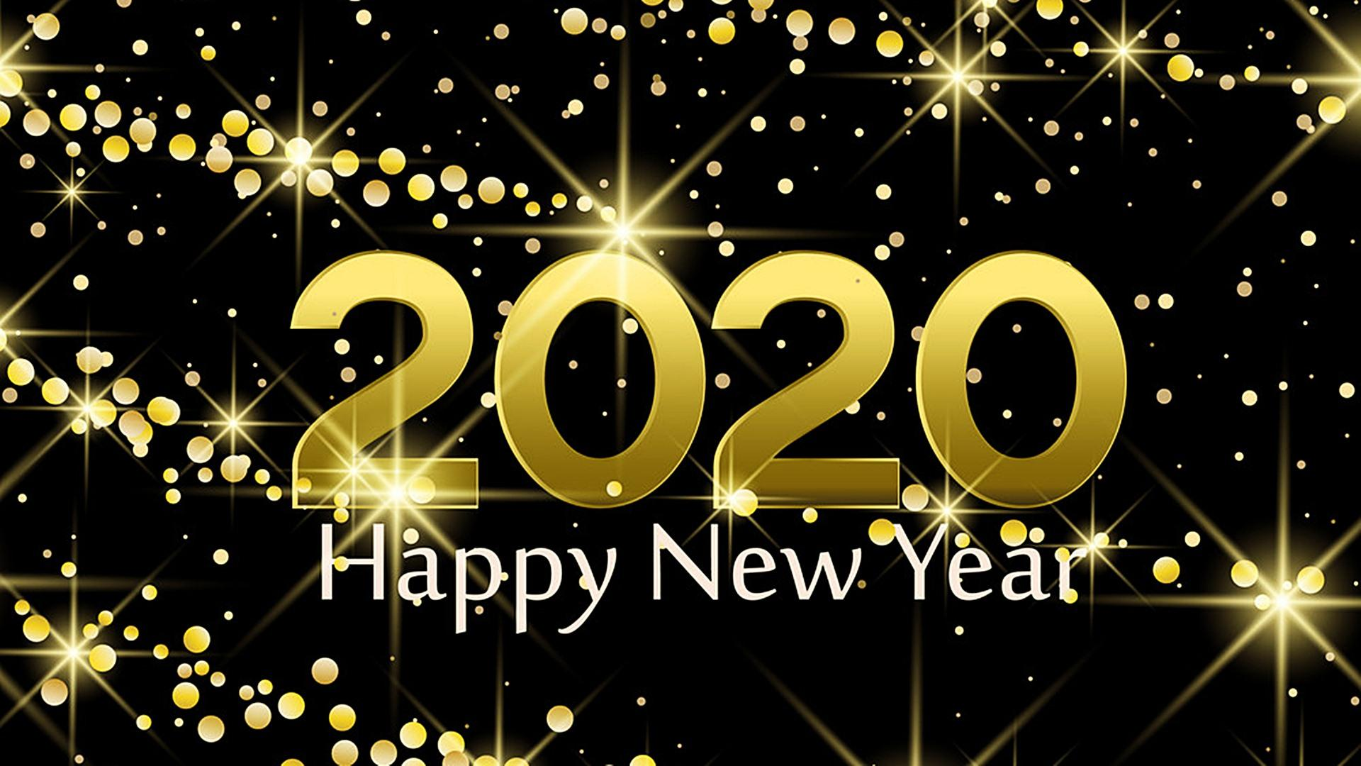 2020 New Year Wallpapers Wallpaper Cave