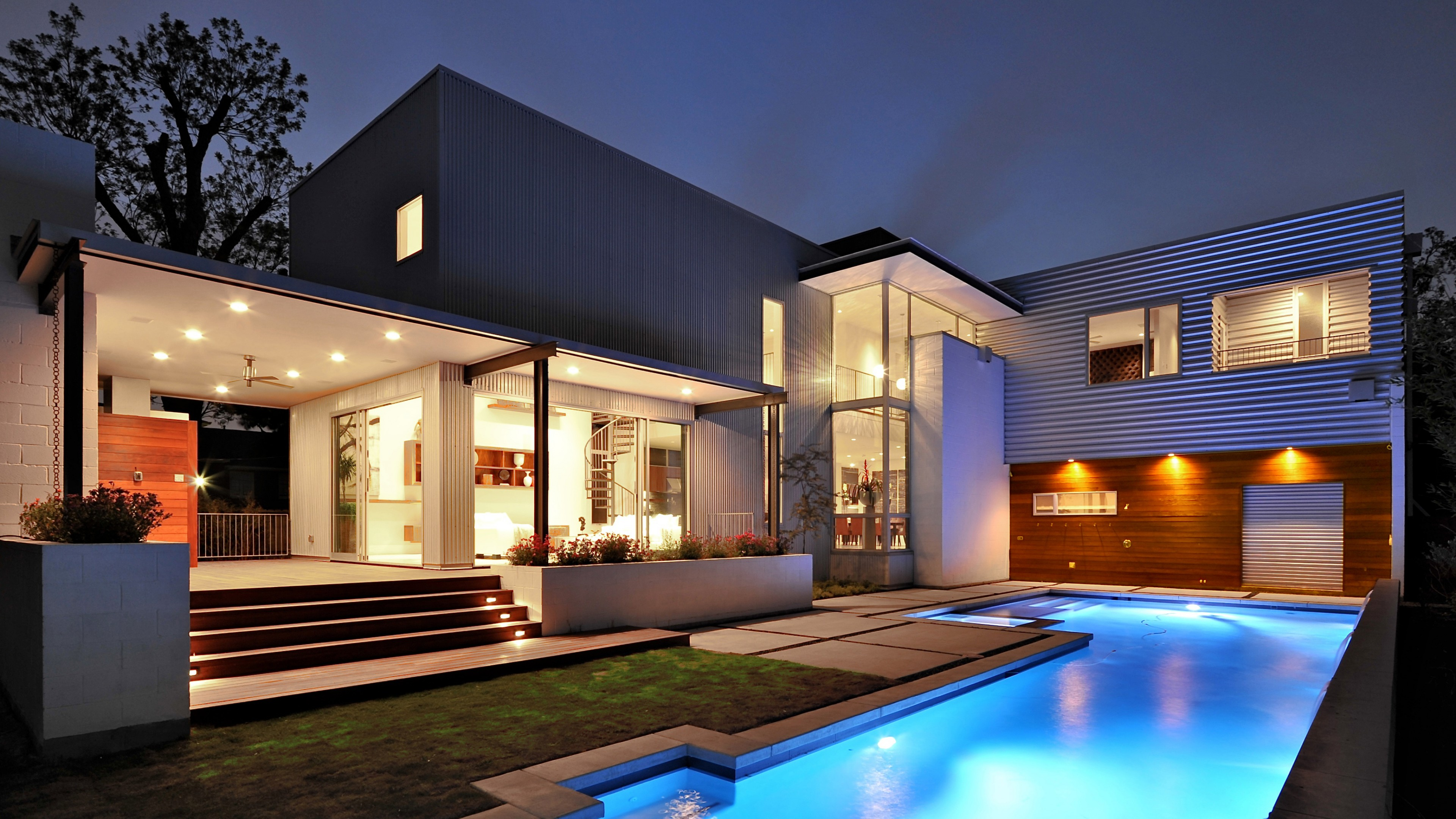 Modern Mansion Wallpapers Wallpaper Cave