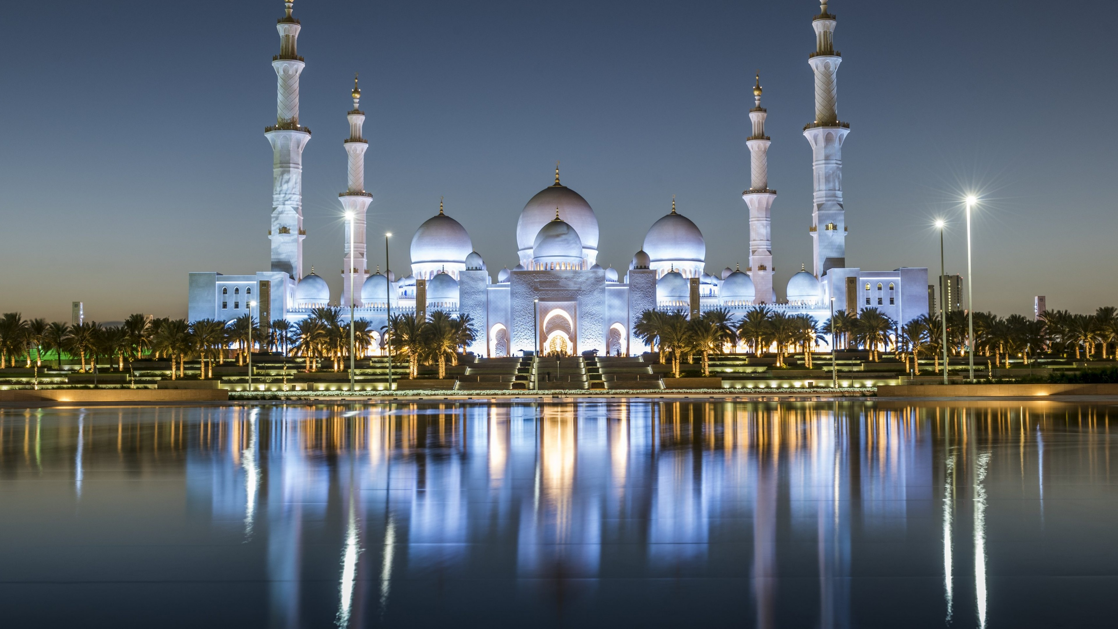 Sheikh Zayed Grand Mosque Center Wallpapers - Wallpaper Cave