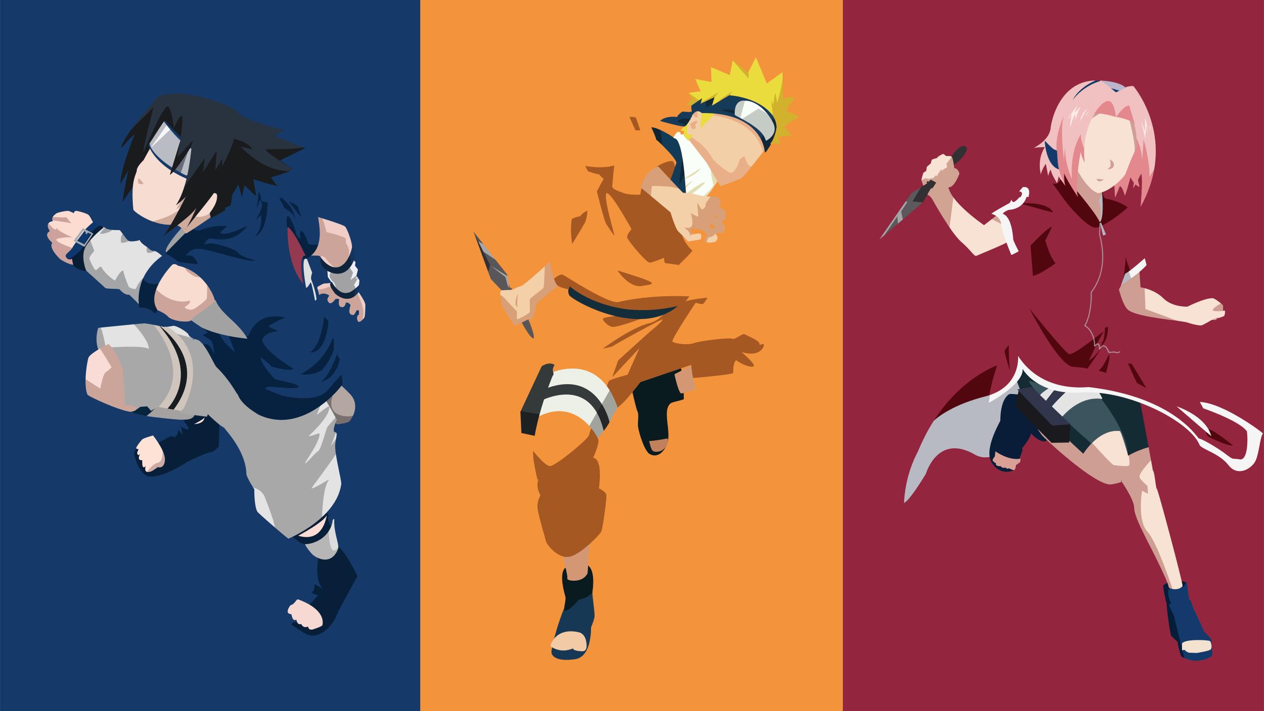 Naruto Minimalist Hd Pc Wallpapers Wallpaper Cave