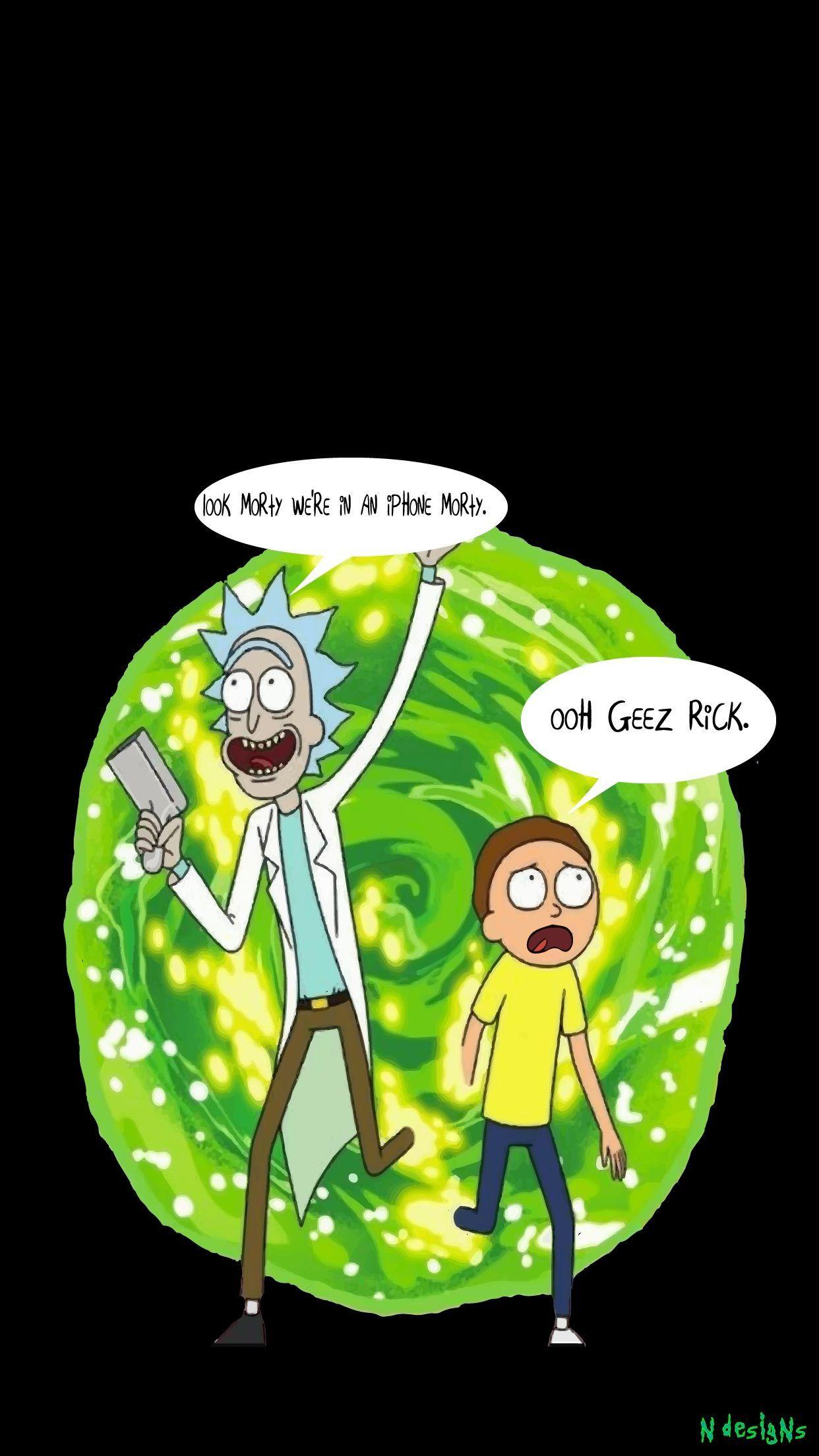 Rick And Morty Quotes Wallpapers - Wallpaper Cave