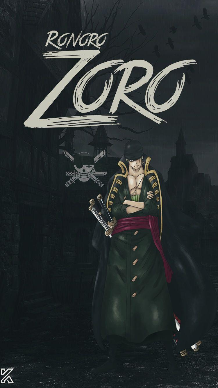 Badass Android Zoro Wallpaper