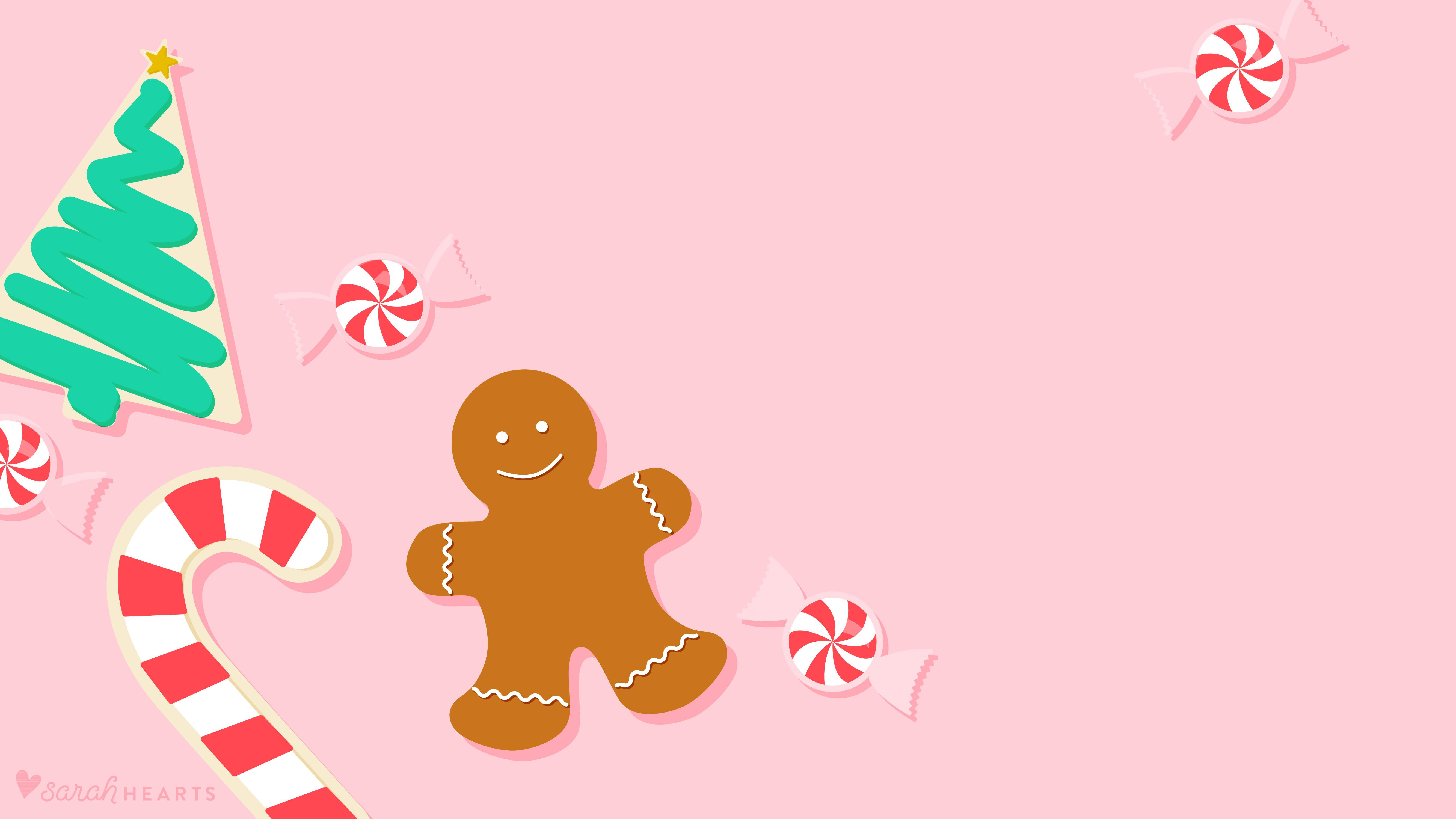 Christmas Desktop Cute Wallpapers - Wallpaper Cave