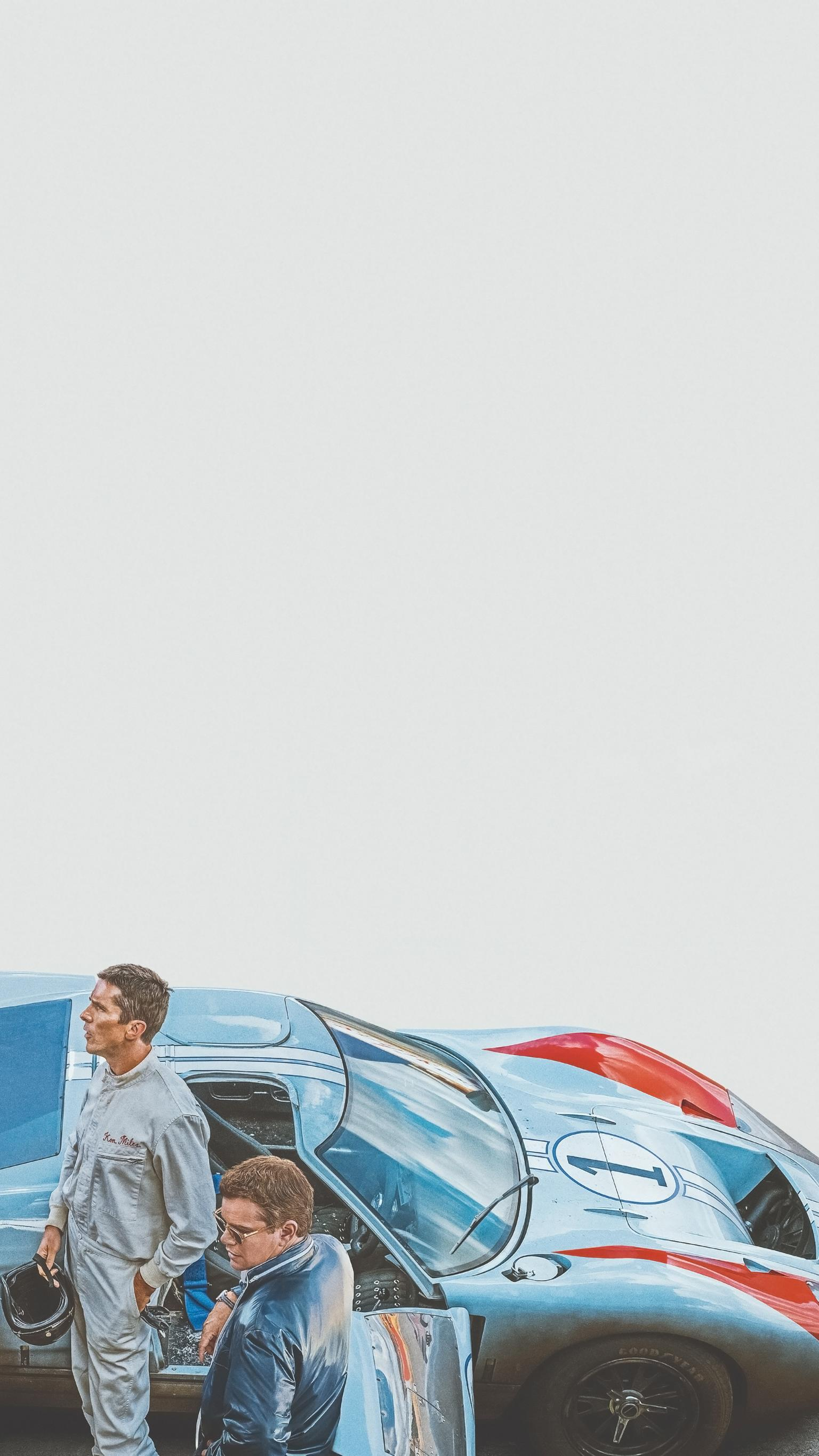 Ford Vs Ferrari Iphone Wallpapers Wallpaper Cave