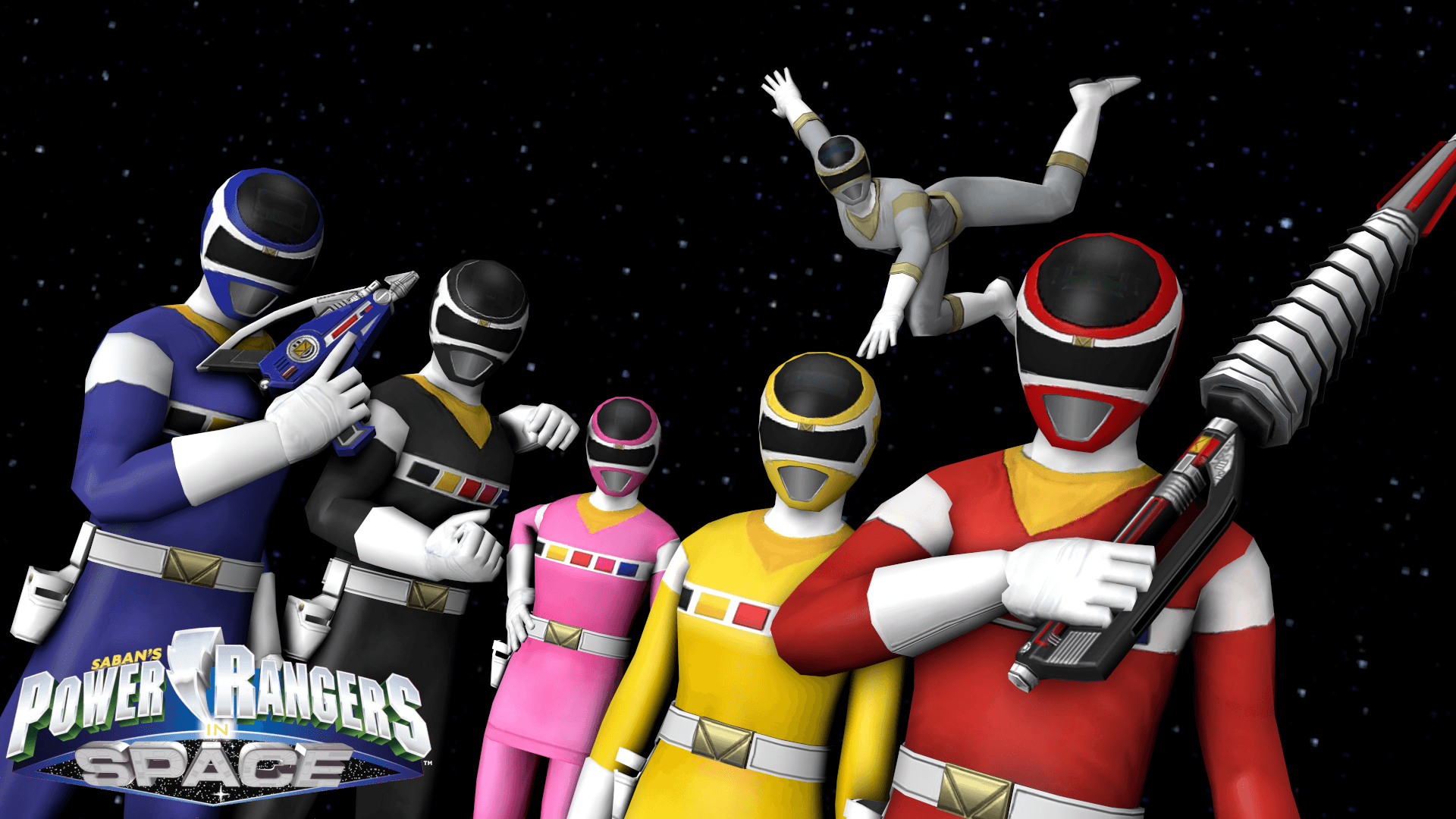 Power Rangers Space Wallpapers Wallpaper Cave