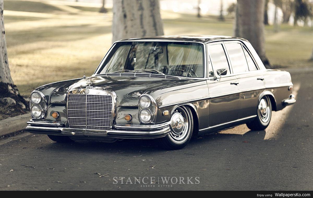 Old Mercedes-Benz Wallpapers - Wallpaper Cave