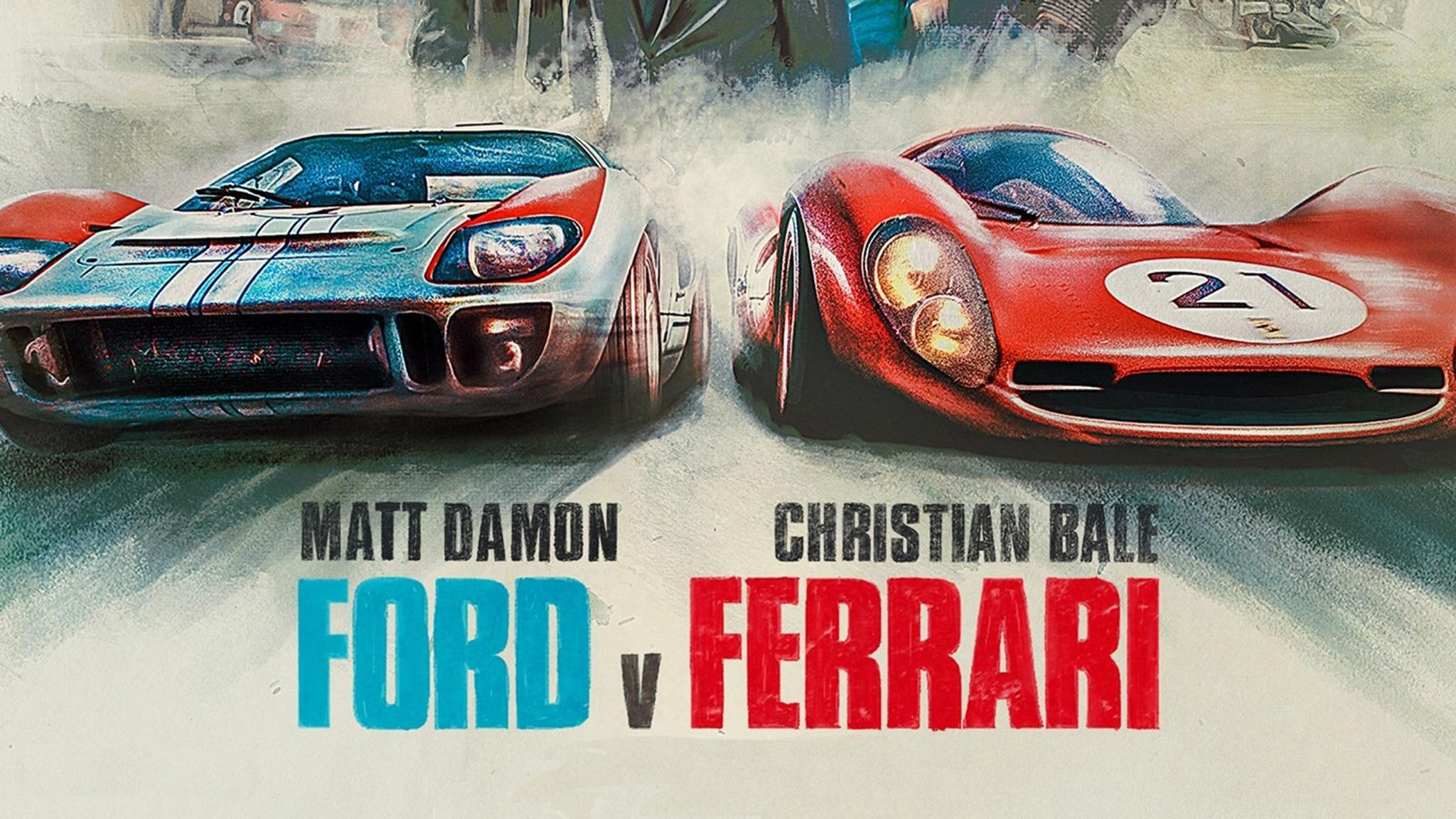 "Ford v Ferrari"": How Much the Stars Drove, Info on the Cars"