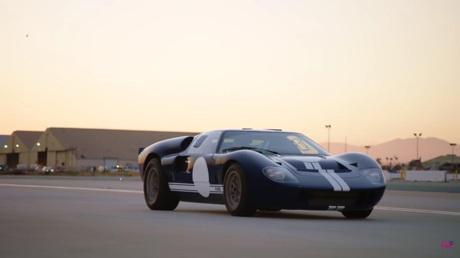 Check Out This Ridiculous Ford GT40 Movie Rig from Ford V