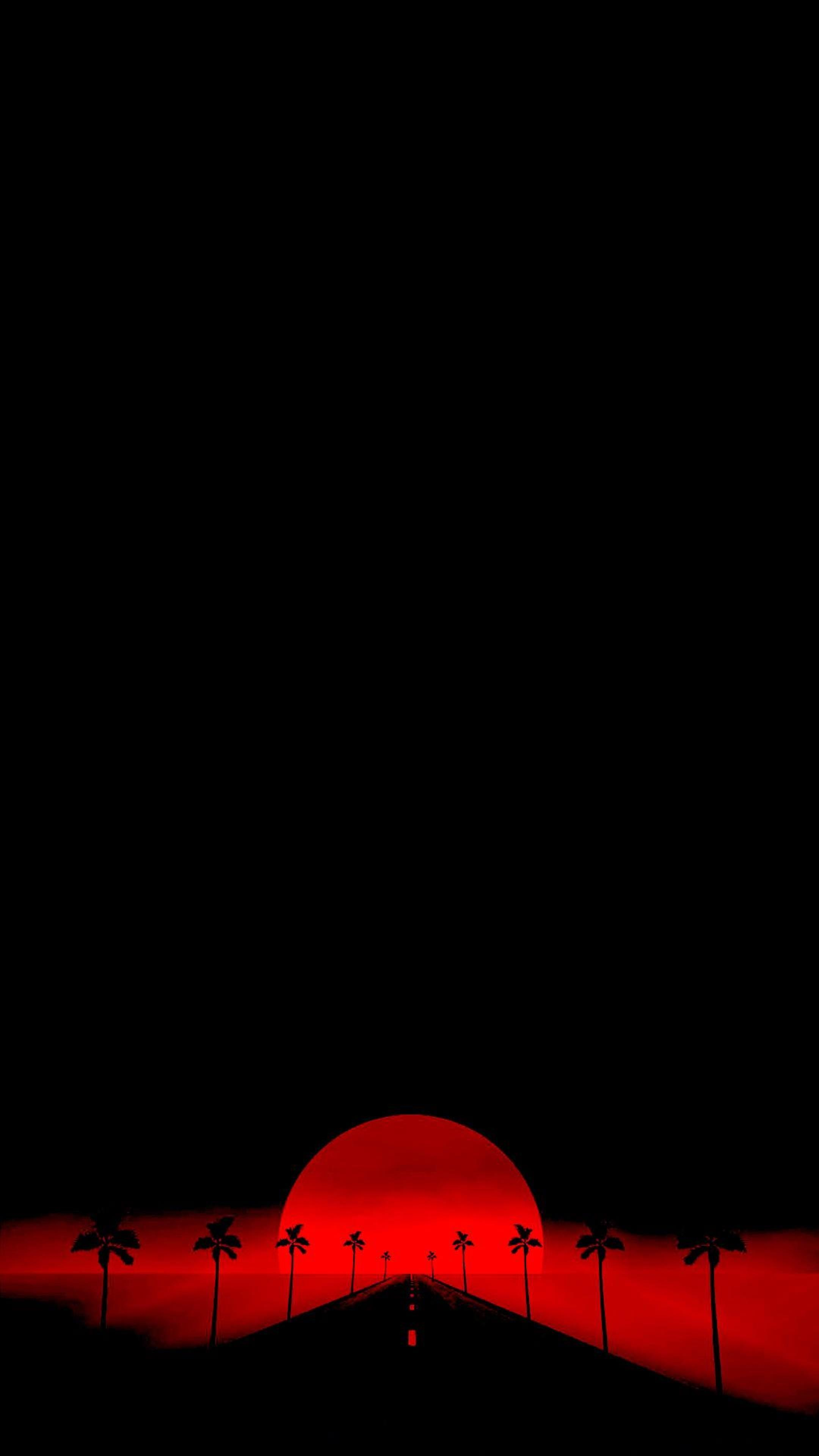 Minimal Amoled Red Wallpapers Wallpaper Cave