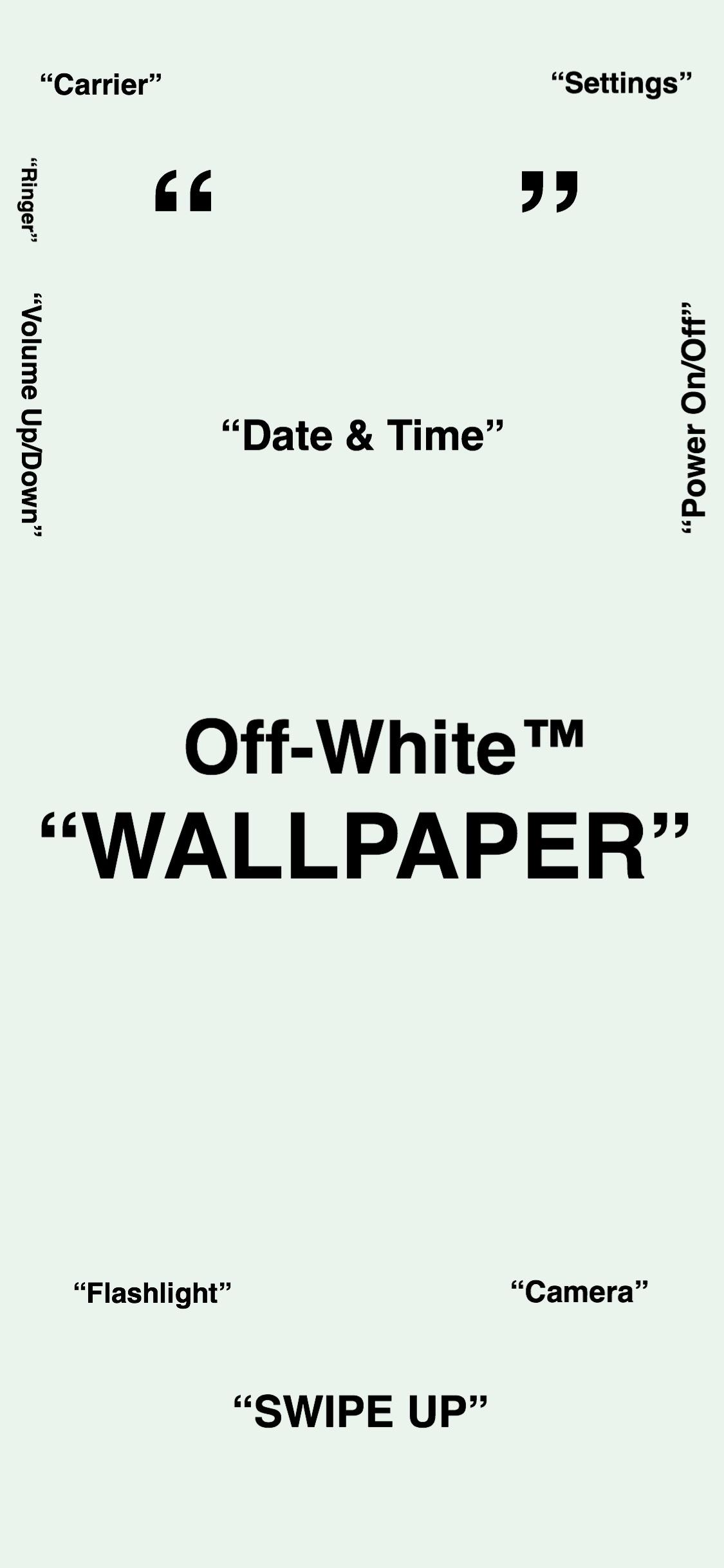 Off White Iphone Hd Wallpapers Wallpaper Cave