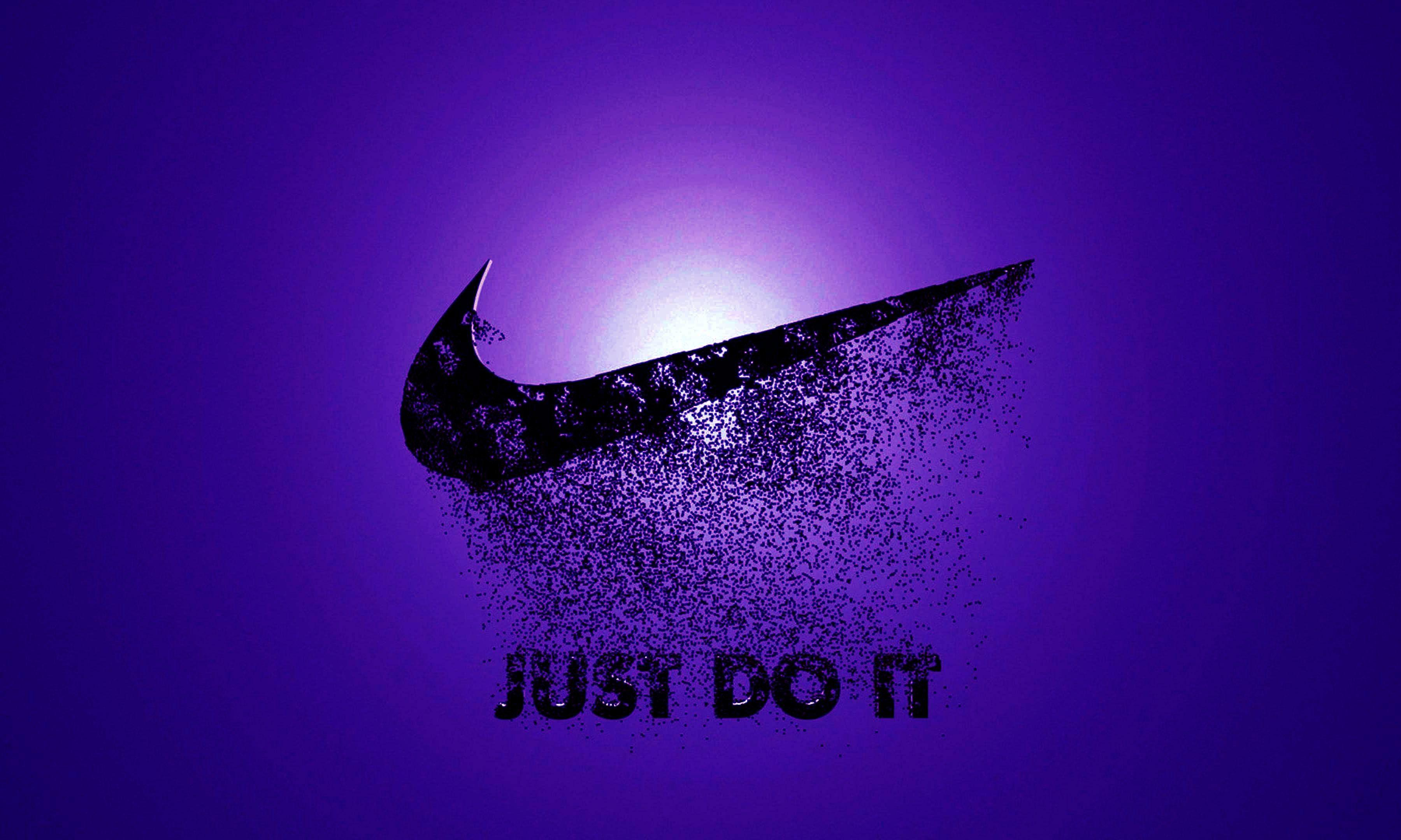 Nike Purple Just Do It Wallpapers - Wallpaper Cave