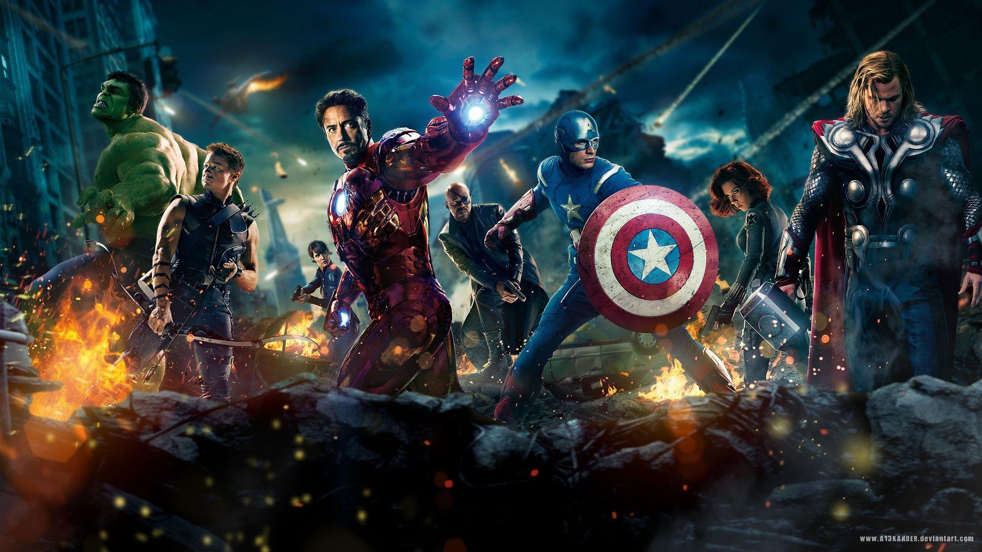 Wallpaper For Laptop Of Avengers