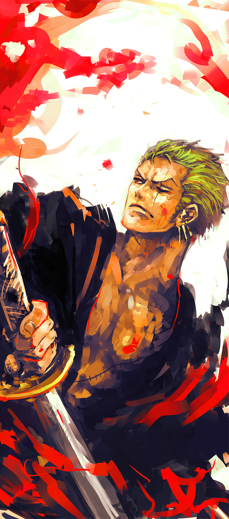 Roronoa Zoro Phone Wallpapers Wallpaper Cave