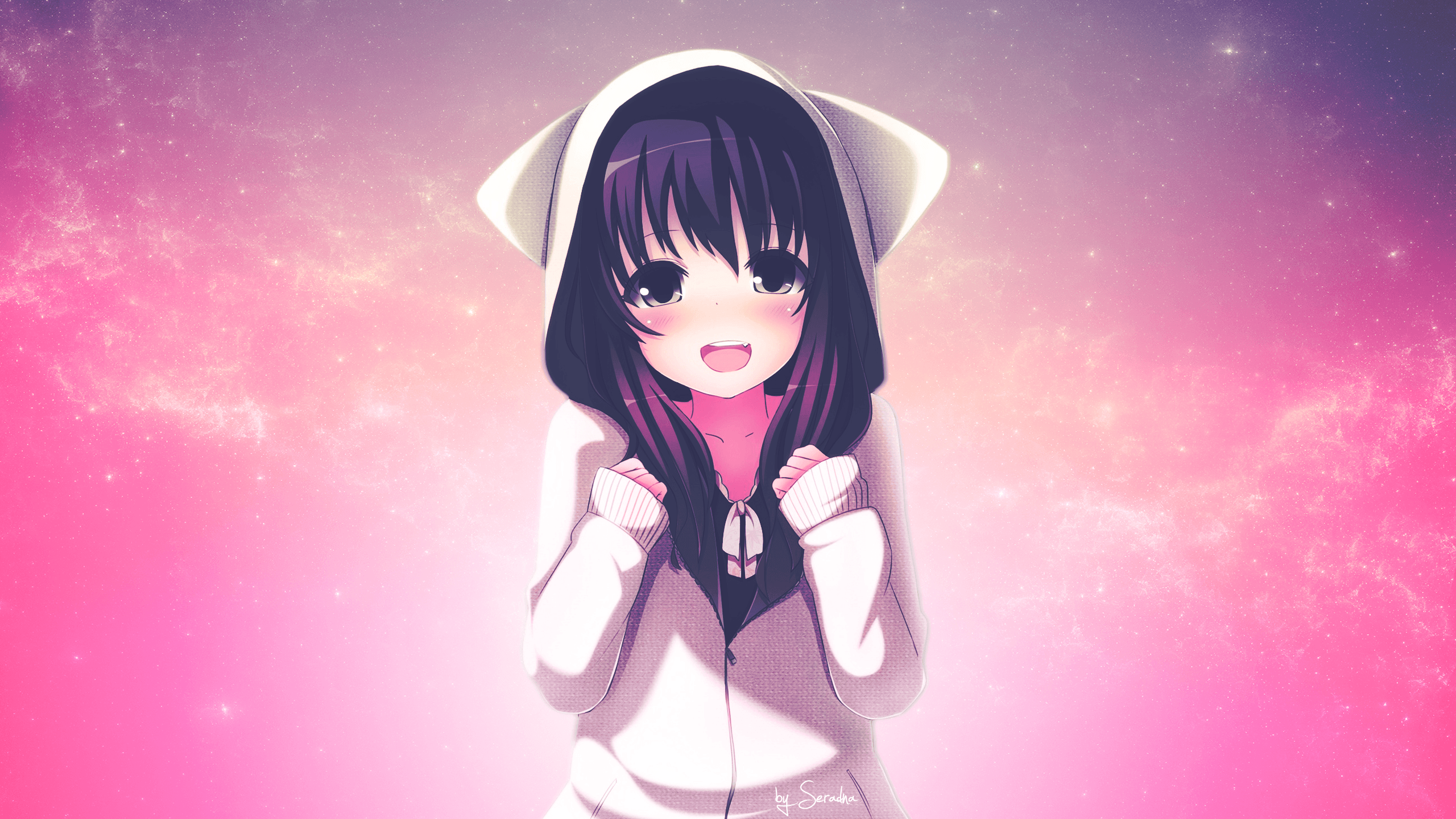 Cute Girl Anime Wallpapers   Wallpaper Cave