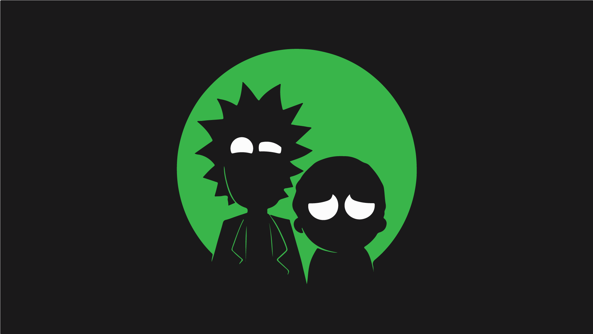 Computer Supreme Rick And Morty Wallpapers Wallpaper Cave