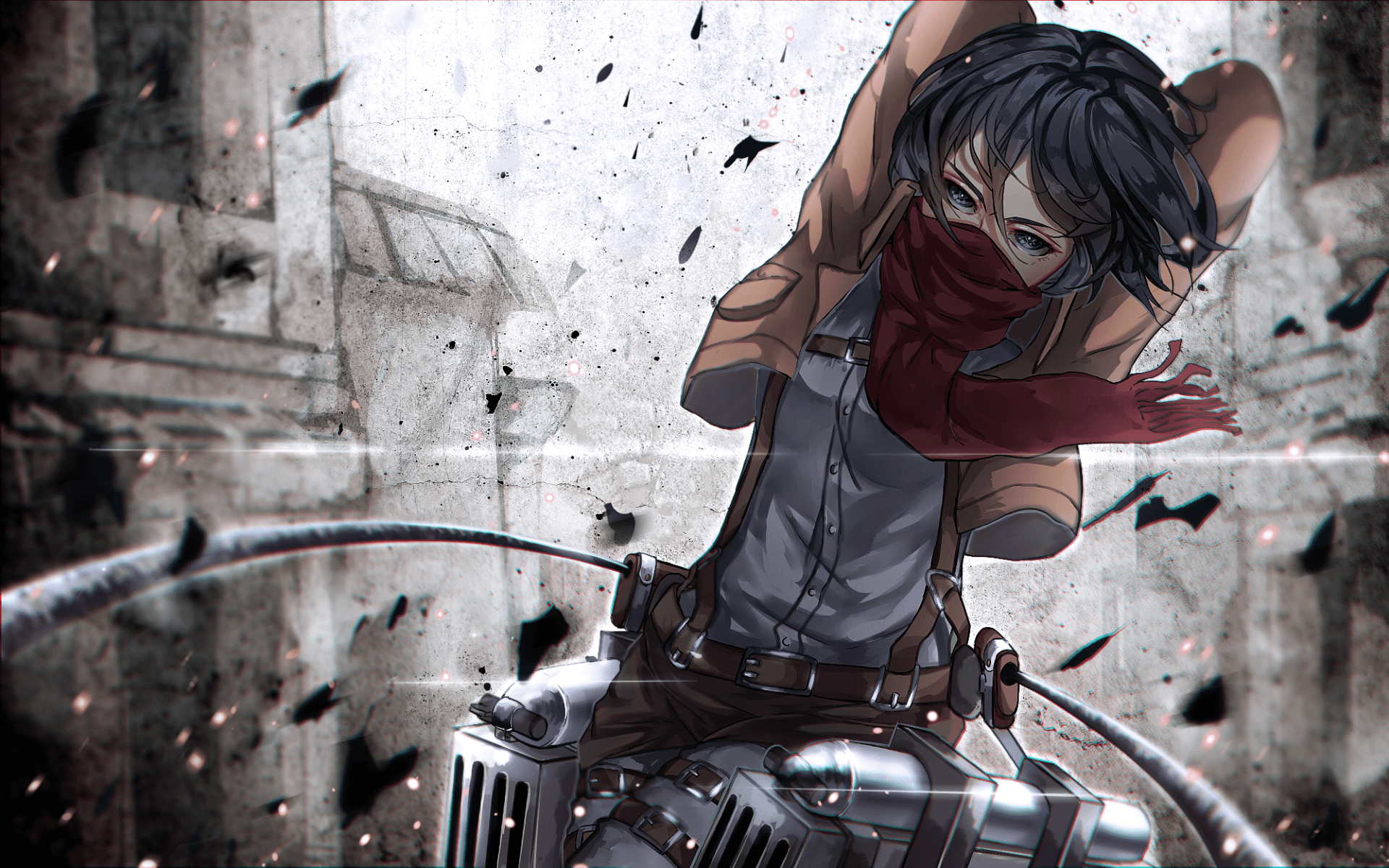 Anime Attack On Titan Mikasa Wallpapers Wallpaper Cave