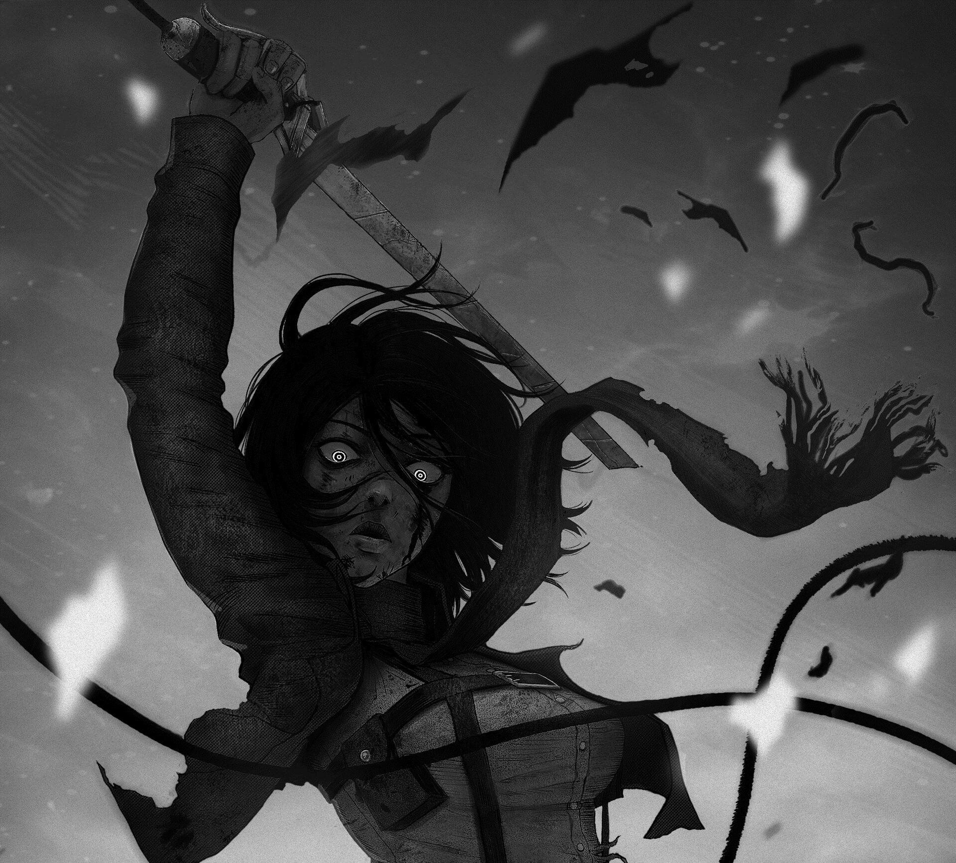 Mikasa Ackerman Anime Wallpapers - Wallpaper Cave