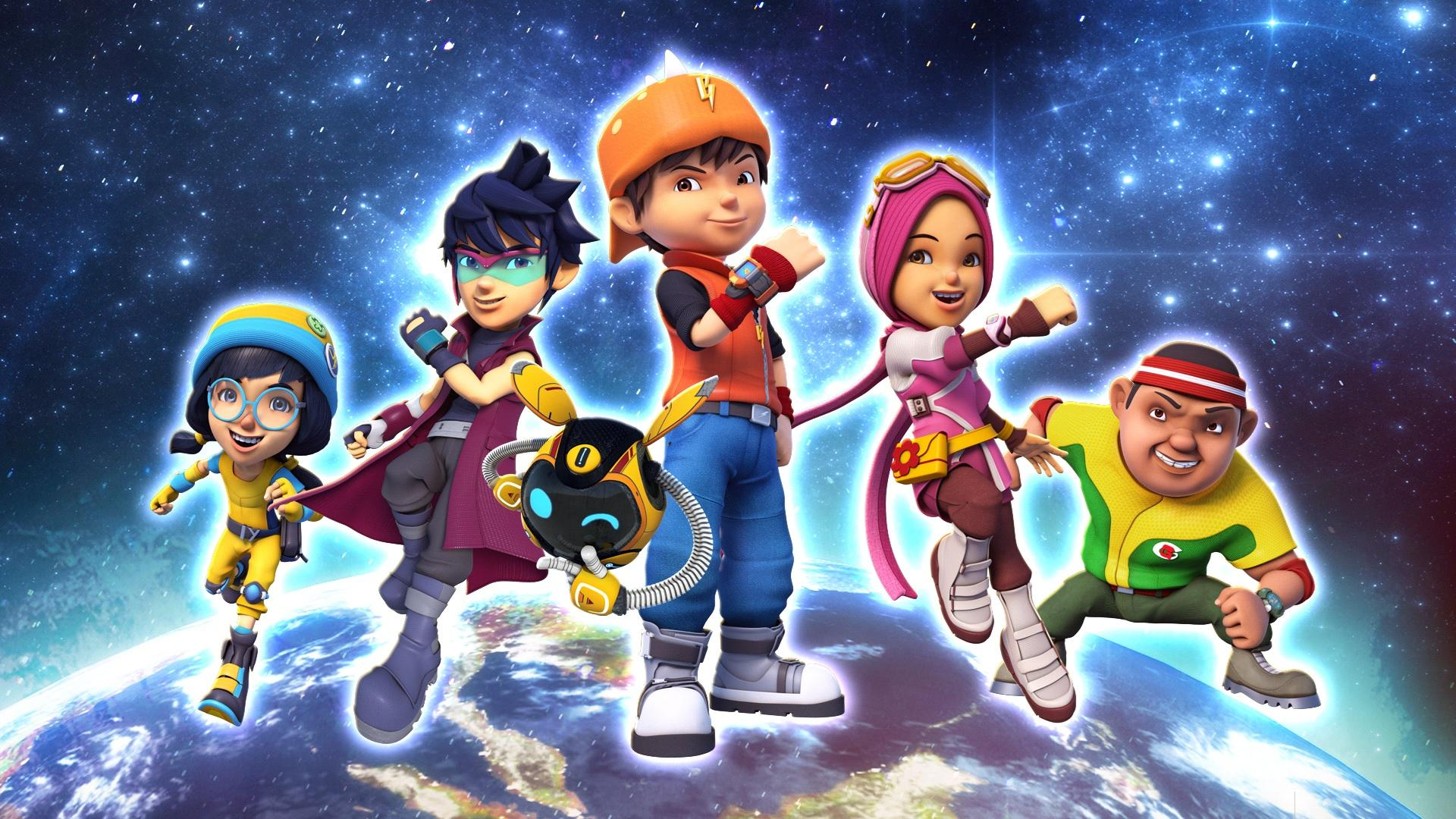 Boboiboy Galaxy HD Wallpapers Wallpaper Cave