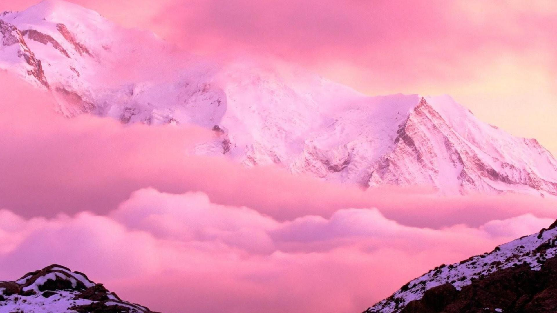 Pink Aesthetic Landscape Wallpapers Wallpaper Cave