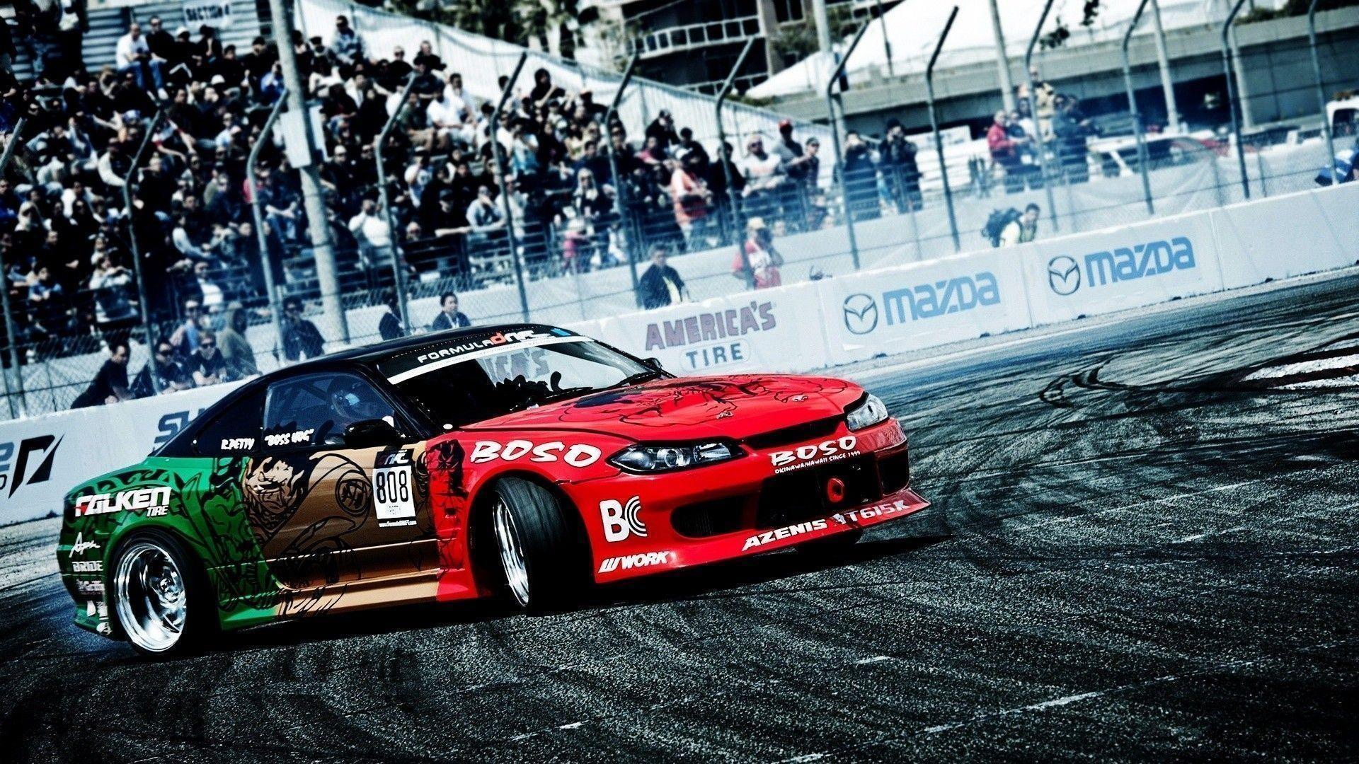 Toyota Supra Car Racing Drift Night Wallpapers - Wallpaper ...