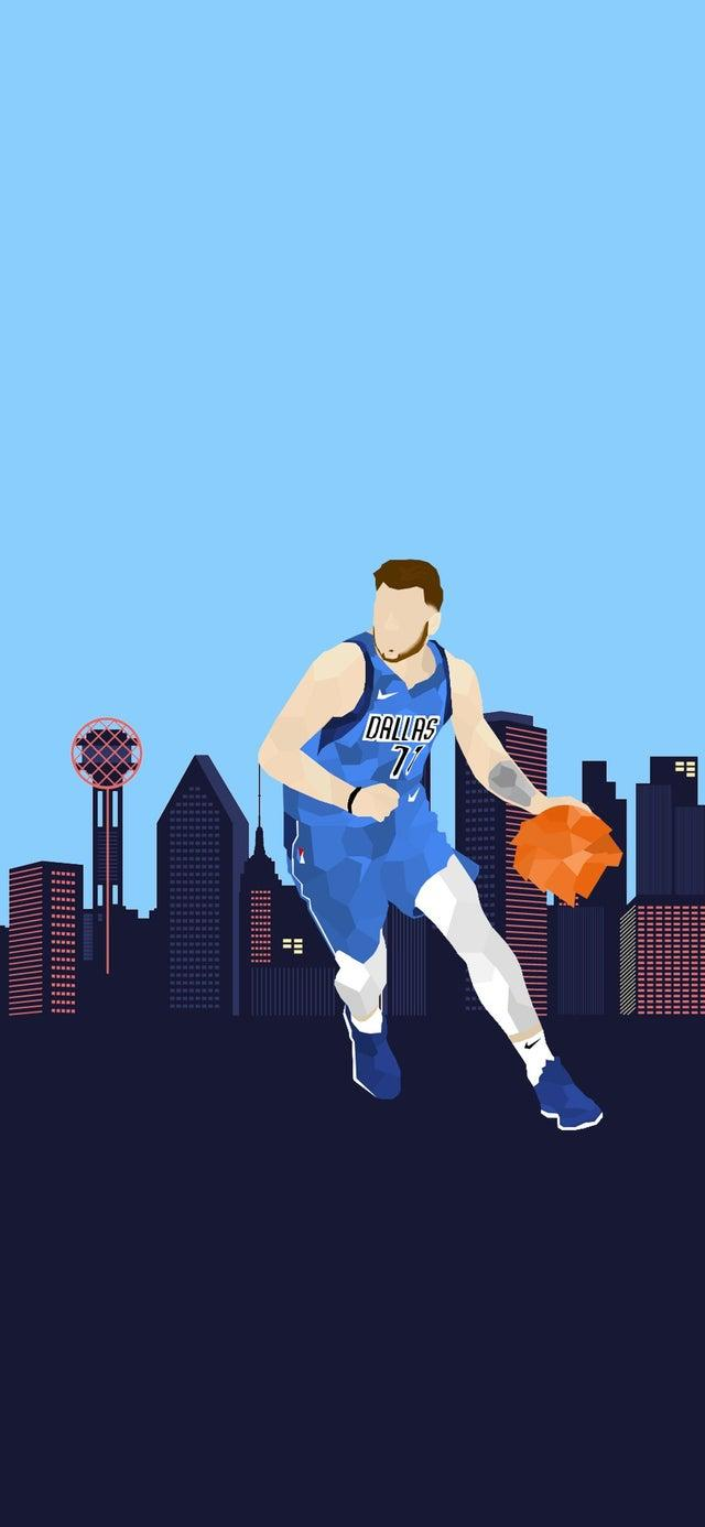 Luka Doncic Iphone Wallpapers Wallpaper Cave