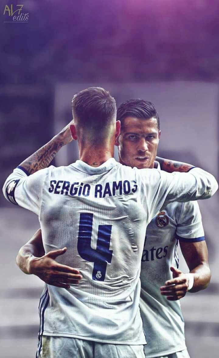 PES 2020 Cristiano Ronaldo & Sergio Ramos 3/4 Sleeve Mod ... |Sergio Ramos 2020 Drawing