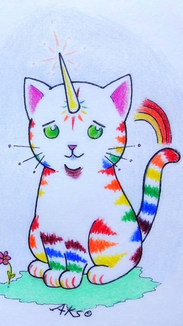 Unicorn Cats Wallpapers - Wallpaper Cave