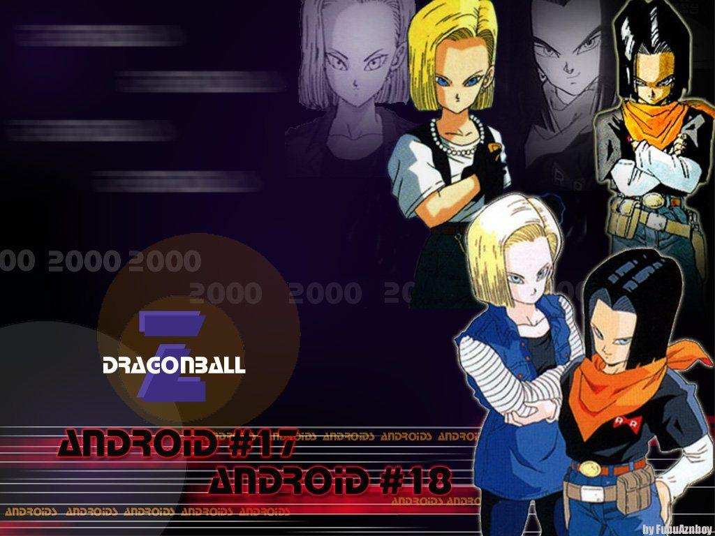 Androide 18 And 17 Dbz Wallpapers Wallpaper Cave