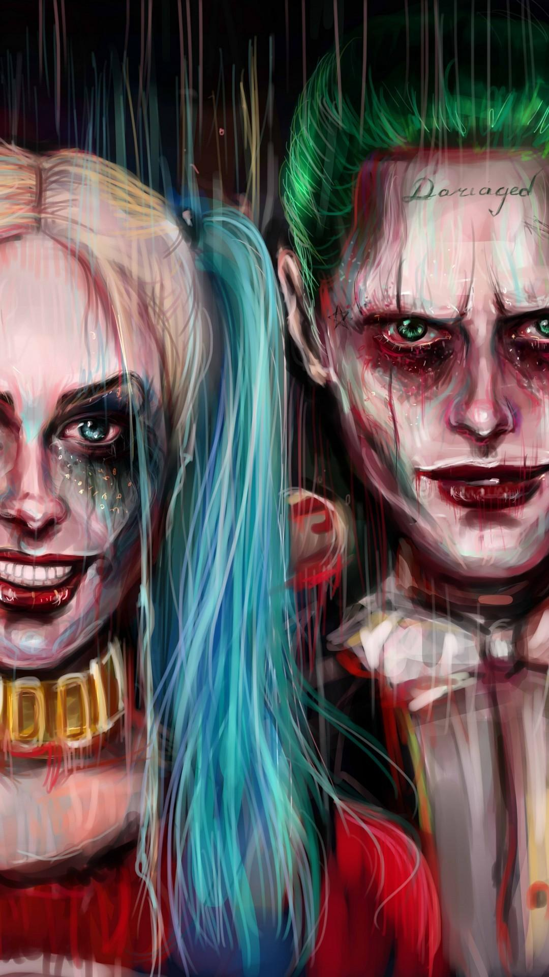 Joker And Harley Quinn Mobile Wallpapers - Wallpaper Cave