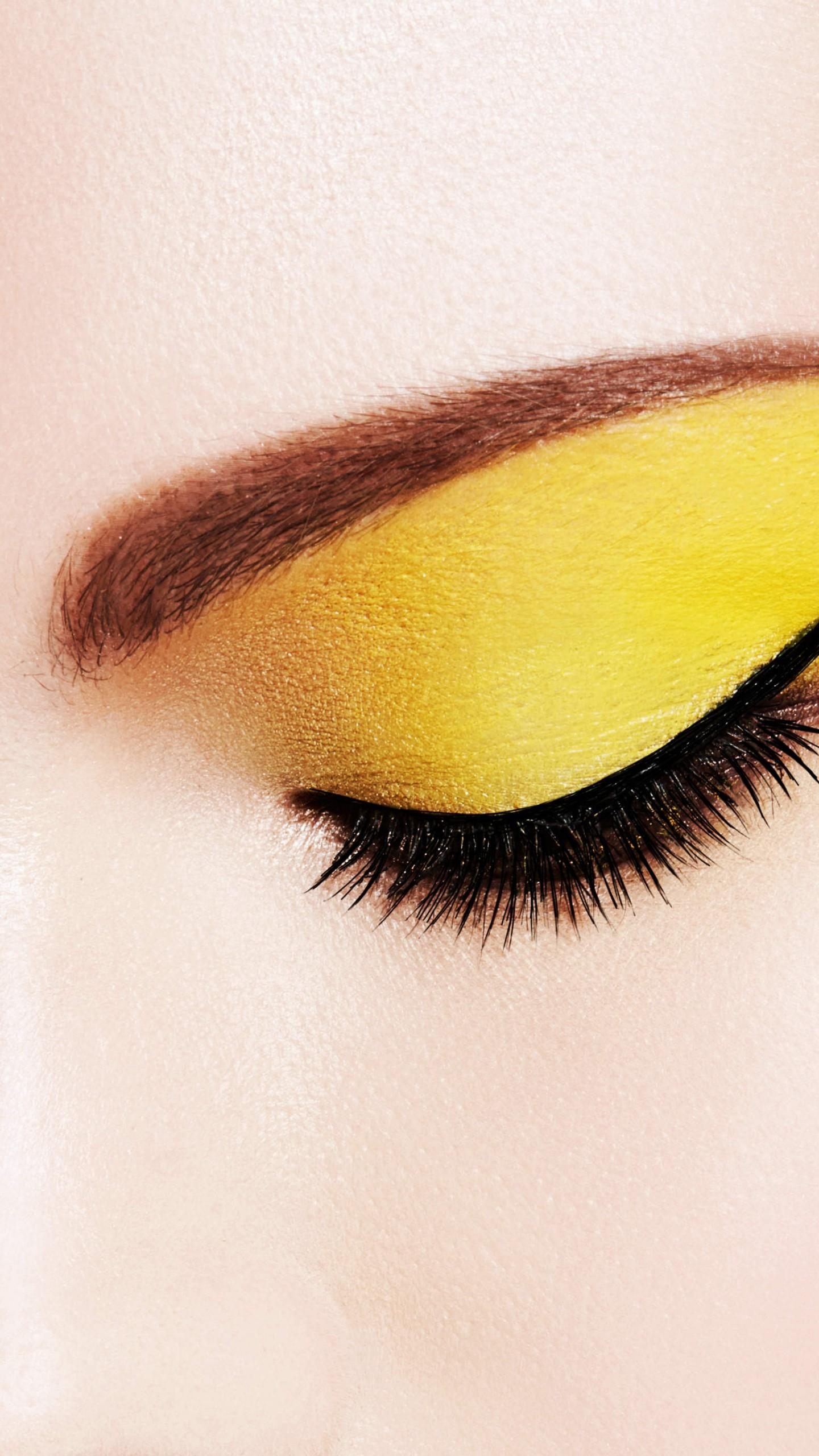Eyes Yellow Wallpapers