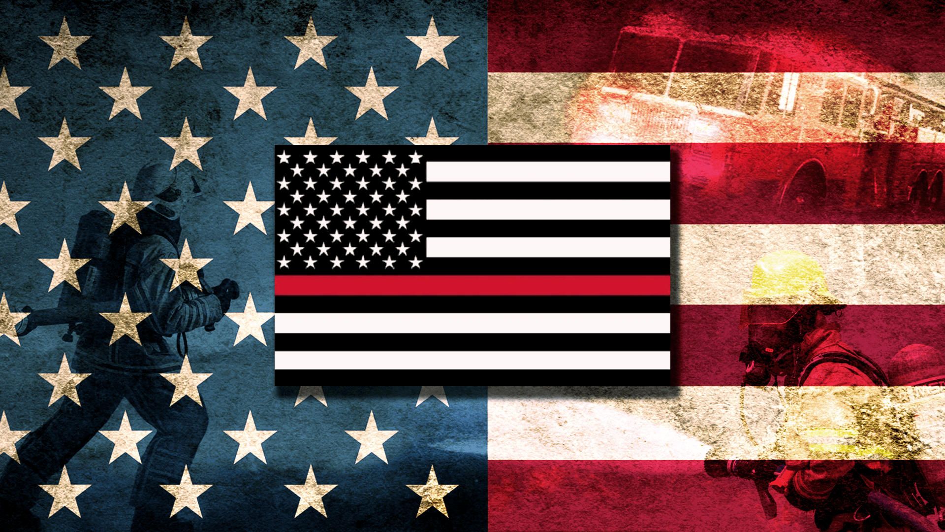 Thin Red Line Flag Computer Wallpapers Wallpaper Cave