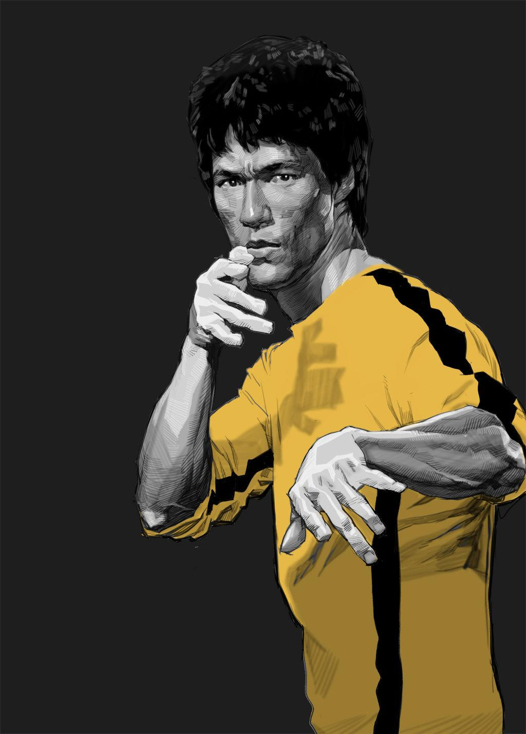 Bruce Lee Phone Wallpapers Wallpaper Cave